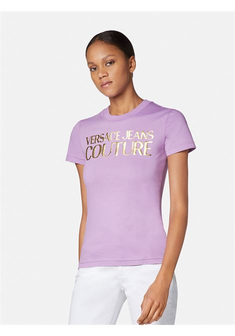 t-shirt logo versace jeans couture VERSACE JEANS | T-shirt | B2HWA7TB317
