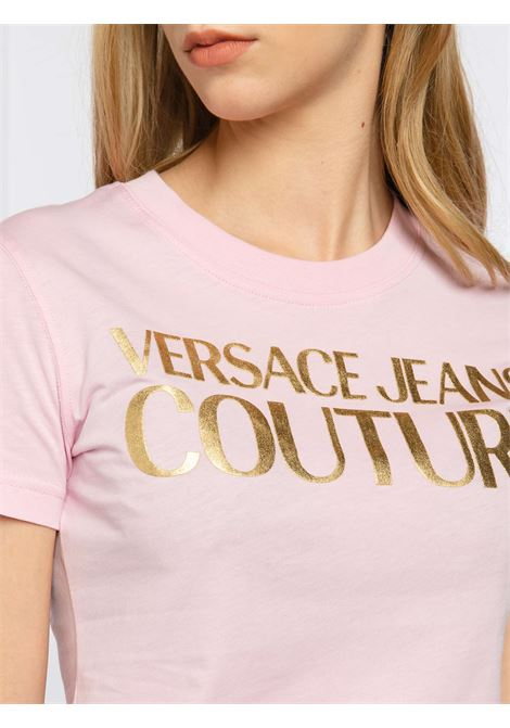 t-shirt logo versace jeans couture VERSACE JEANS | T-shirt | B2HWA7TB402