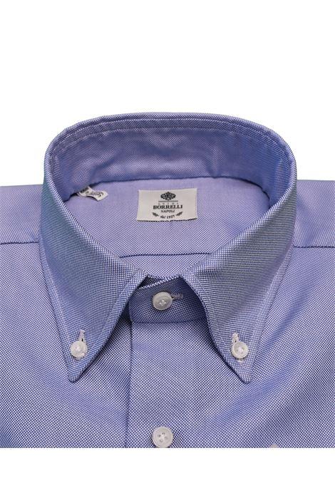 OXFORD SHIRT - LIGHT BLUE LUIGI BORRELLI - NAPOLI | PS3/0049-3