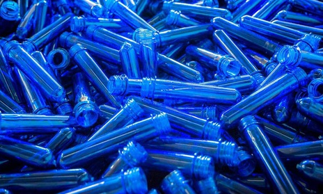 Polyethylene terephthalate for PET preforms production