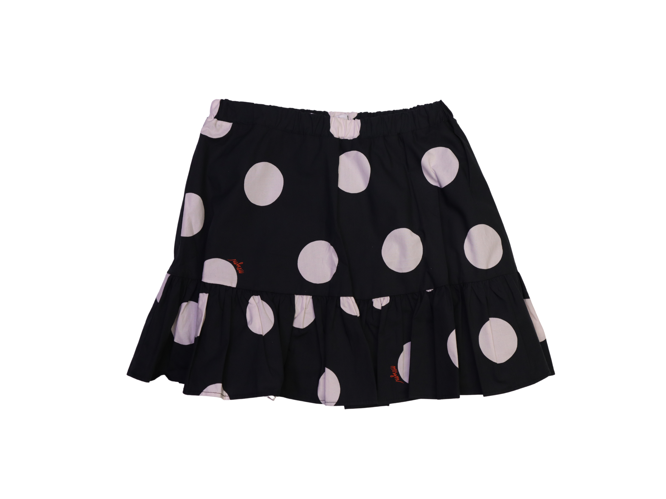 Gonna in cotone con pois msgm kids MSGM KIDS | Gonne | GON1880NERO