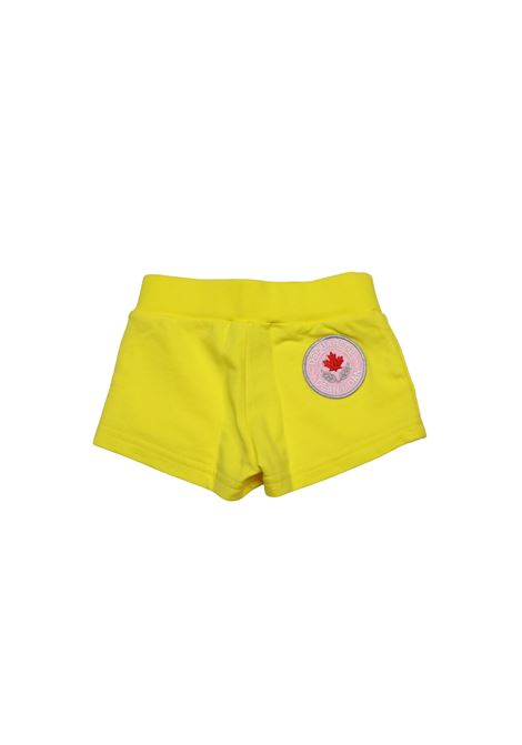 Short sportivo DSQUARED2 KIDS | Short | BER4015GIALLO