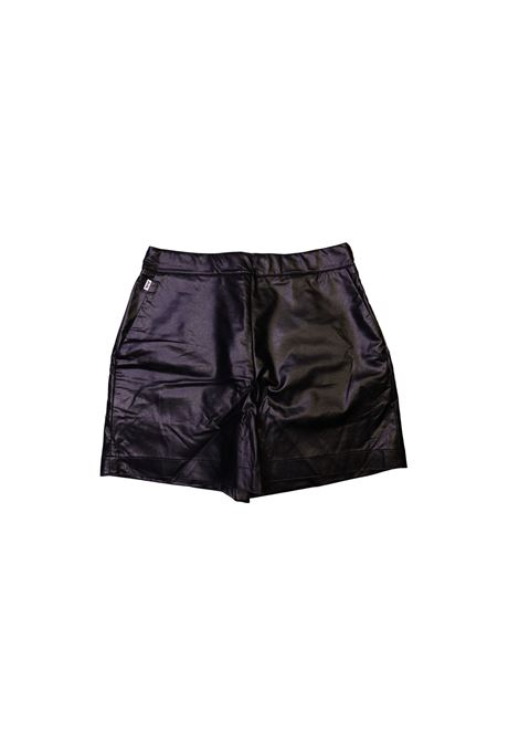 Short in eco pelle JIJIL KIDS | Short | BER3890NERO