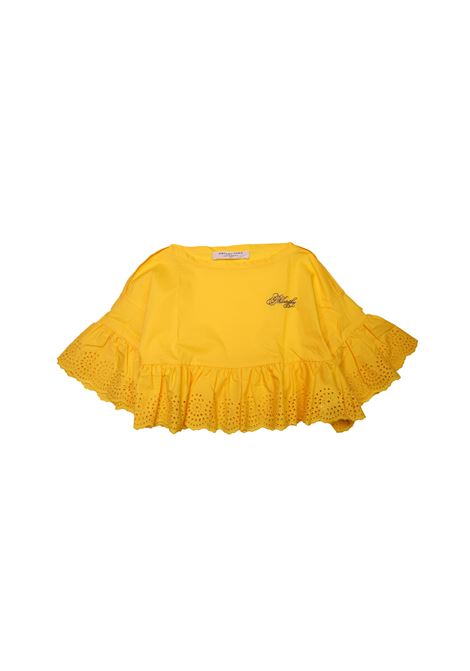 Top con logo PHILOSOPHY KIDS | Camicie | CAM4564GIALLO