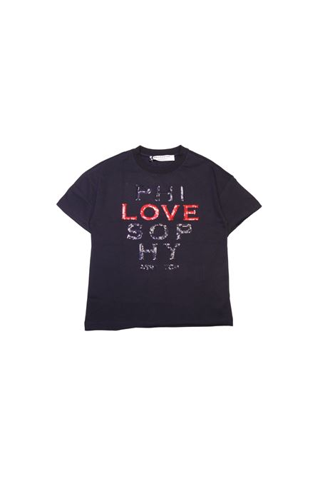 T-shirt con logo PHILOSOPHY KIDS | T-shirt | TSA3087NERO