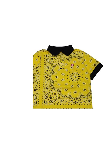 Polo a fantasia SAINT BARTH KIDS | Polo | POL1476GIALLO