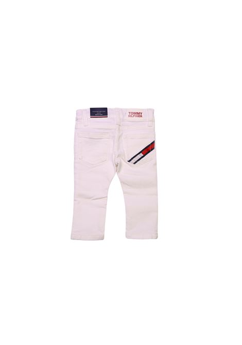 Pantalone denim TOMMY HILFIGER KIDS | Jeans | PAN8886BIANCO#