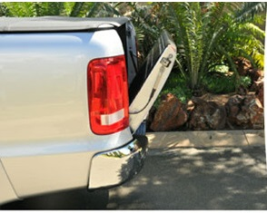 VW Tailgate Lowering Kit with Torsion Bar - Made In South