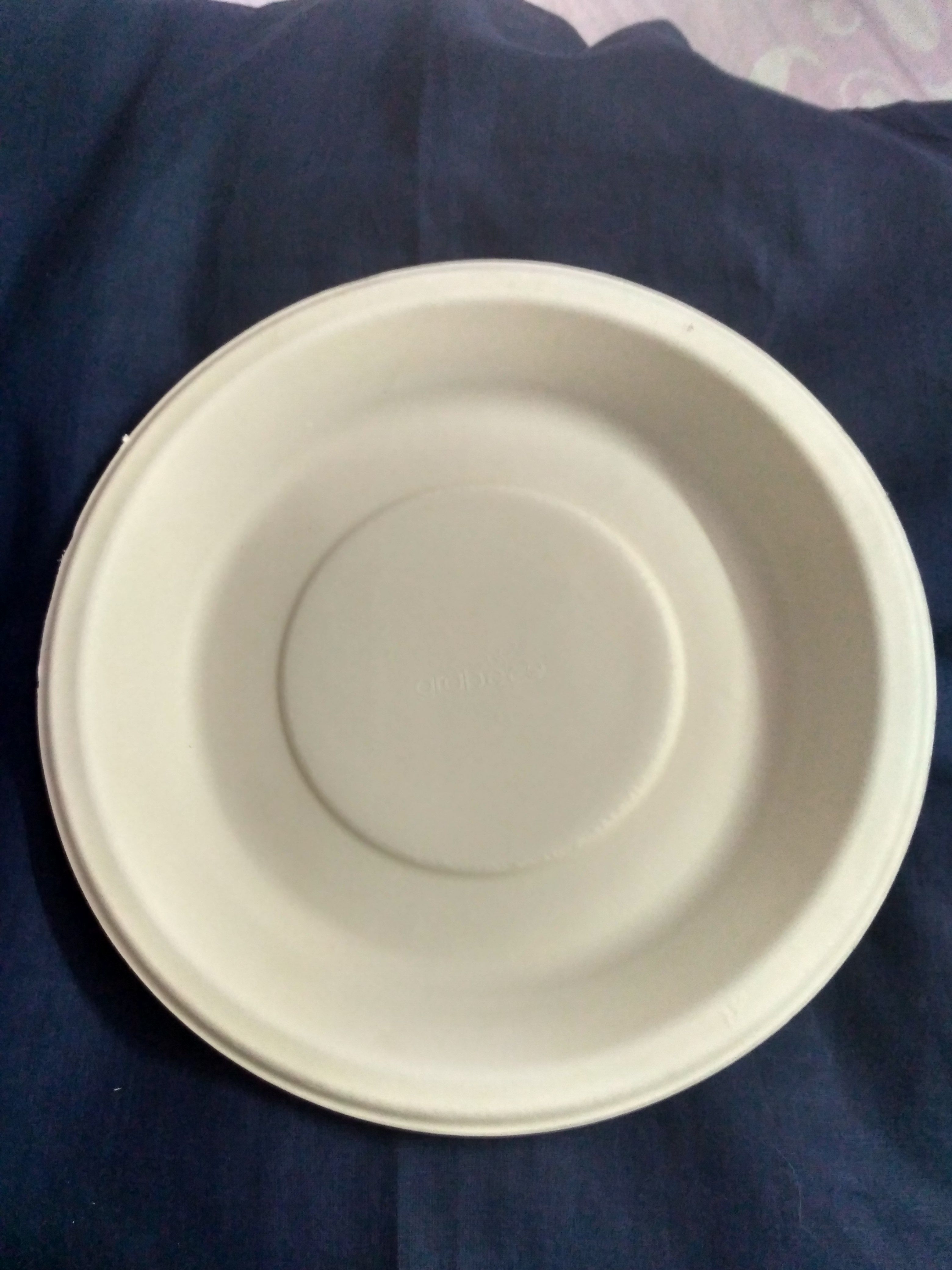Biodegradable Round Plate - Made In India | MADE IN WORLD