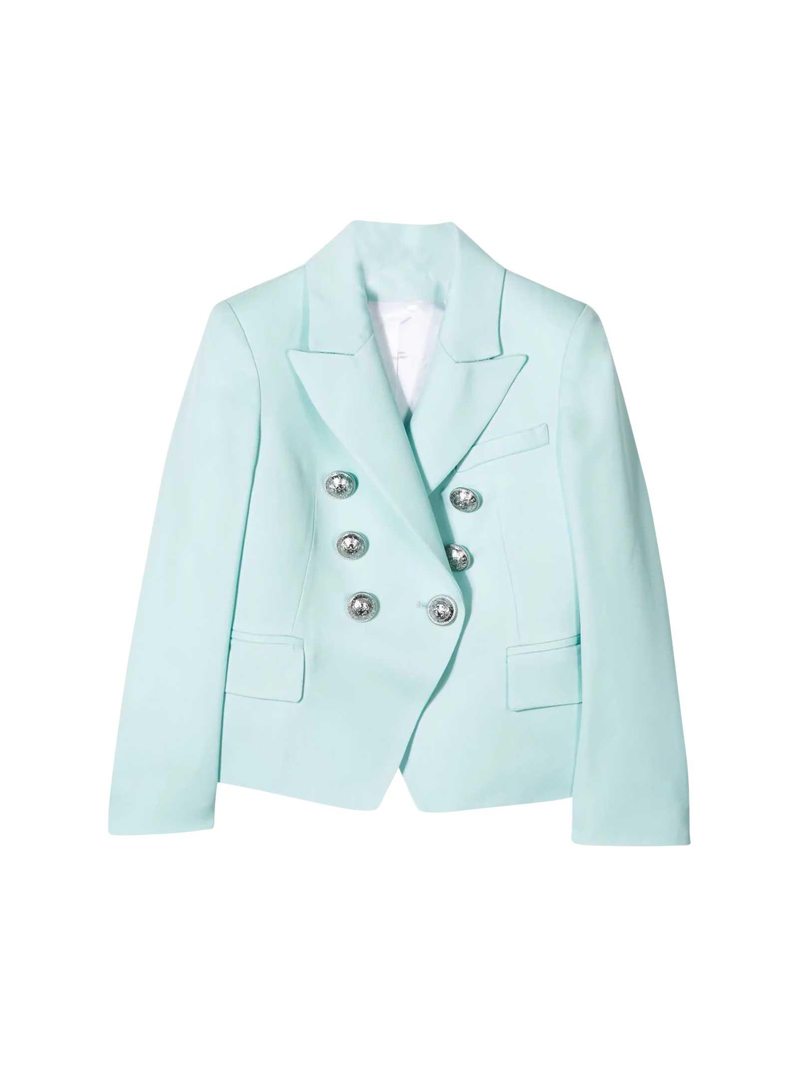 exclusive range best website top design Green blazer Balmain kids teen