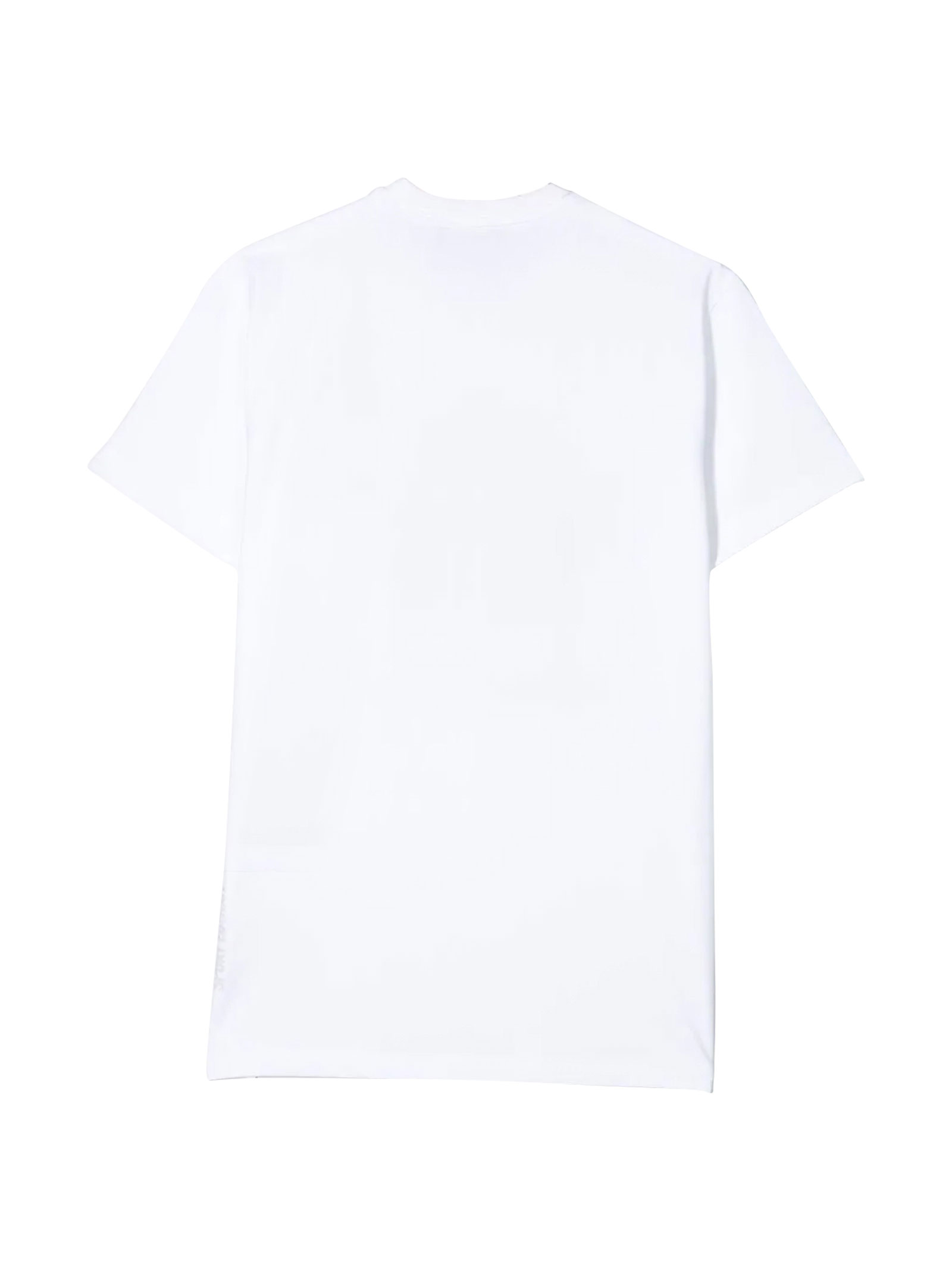 White t-shirt with red press Dsquared2 kids DSQUARED2 KIDS | 8 | DQ03WDD00X4DQ10N