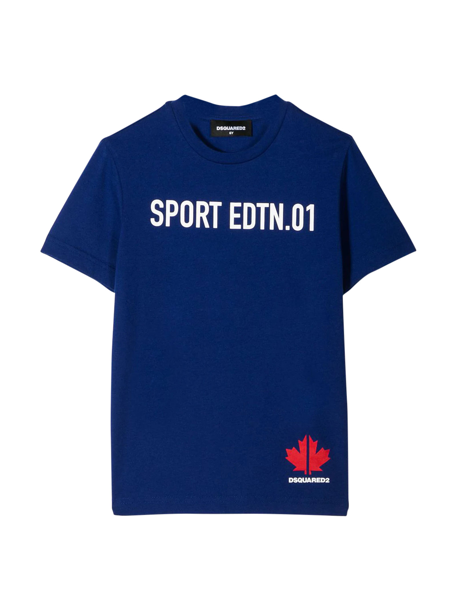 Blue t-shirt Dsquared2 kids DSQUARED2 KIDS | 8 | DQ03WED00MMDQ861