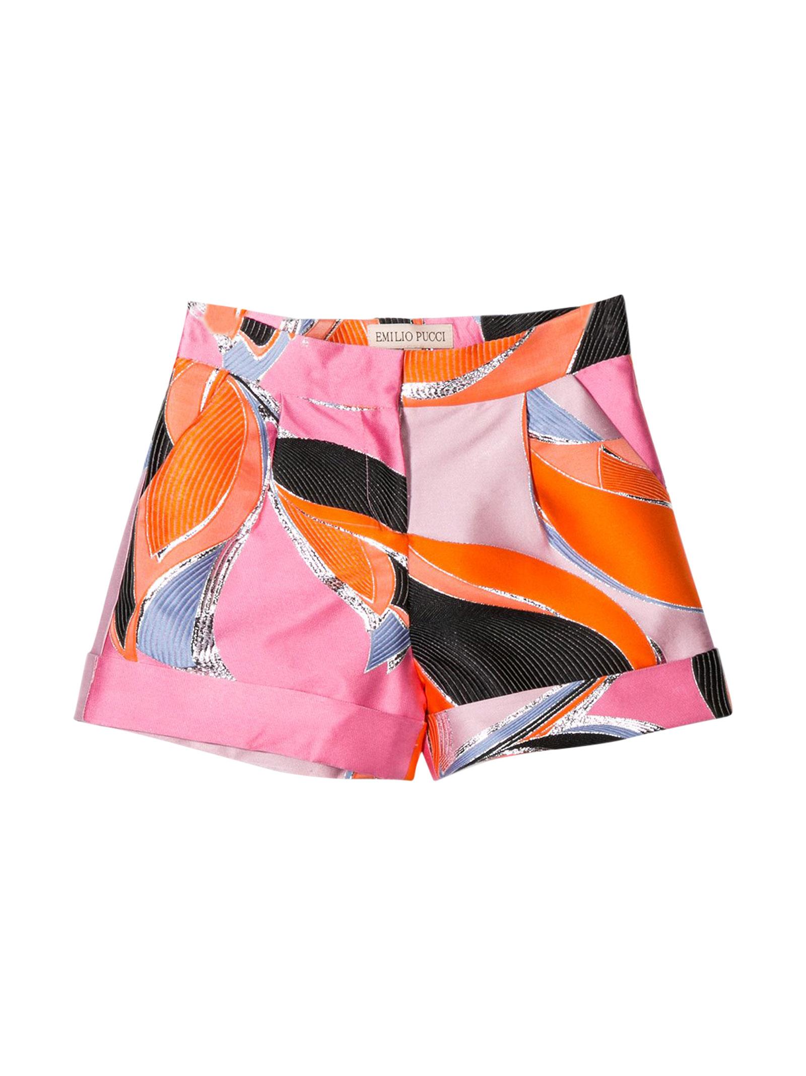 Multicolor shorts Emilio Pucci Junior EMILIO PUCCI JUNIOR | 30 | 9M6009MD840415
