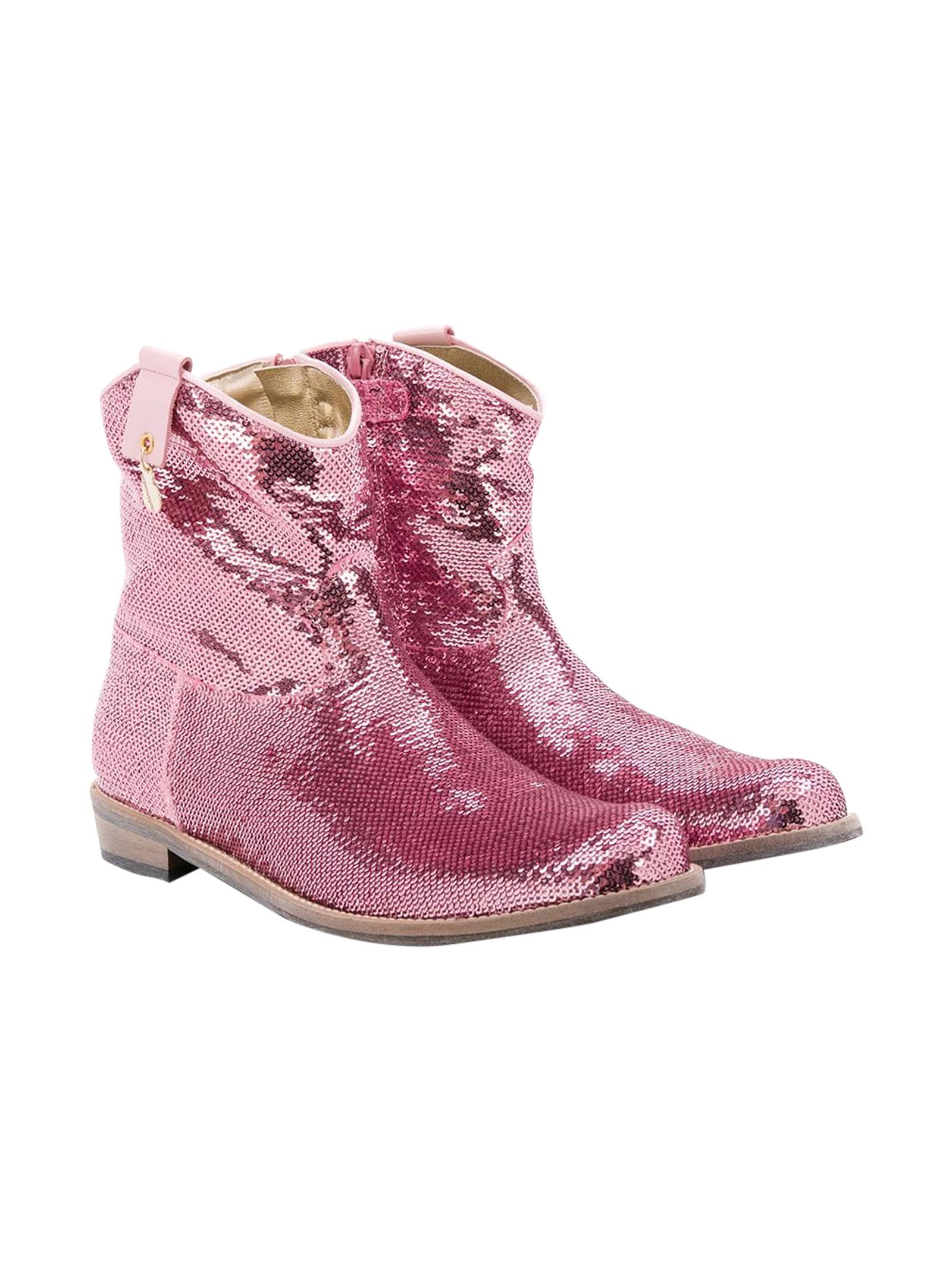 Pink boots Monnalisa kids  Monnalisa kids   12   87500457040095