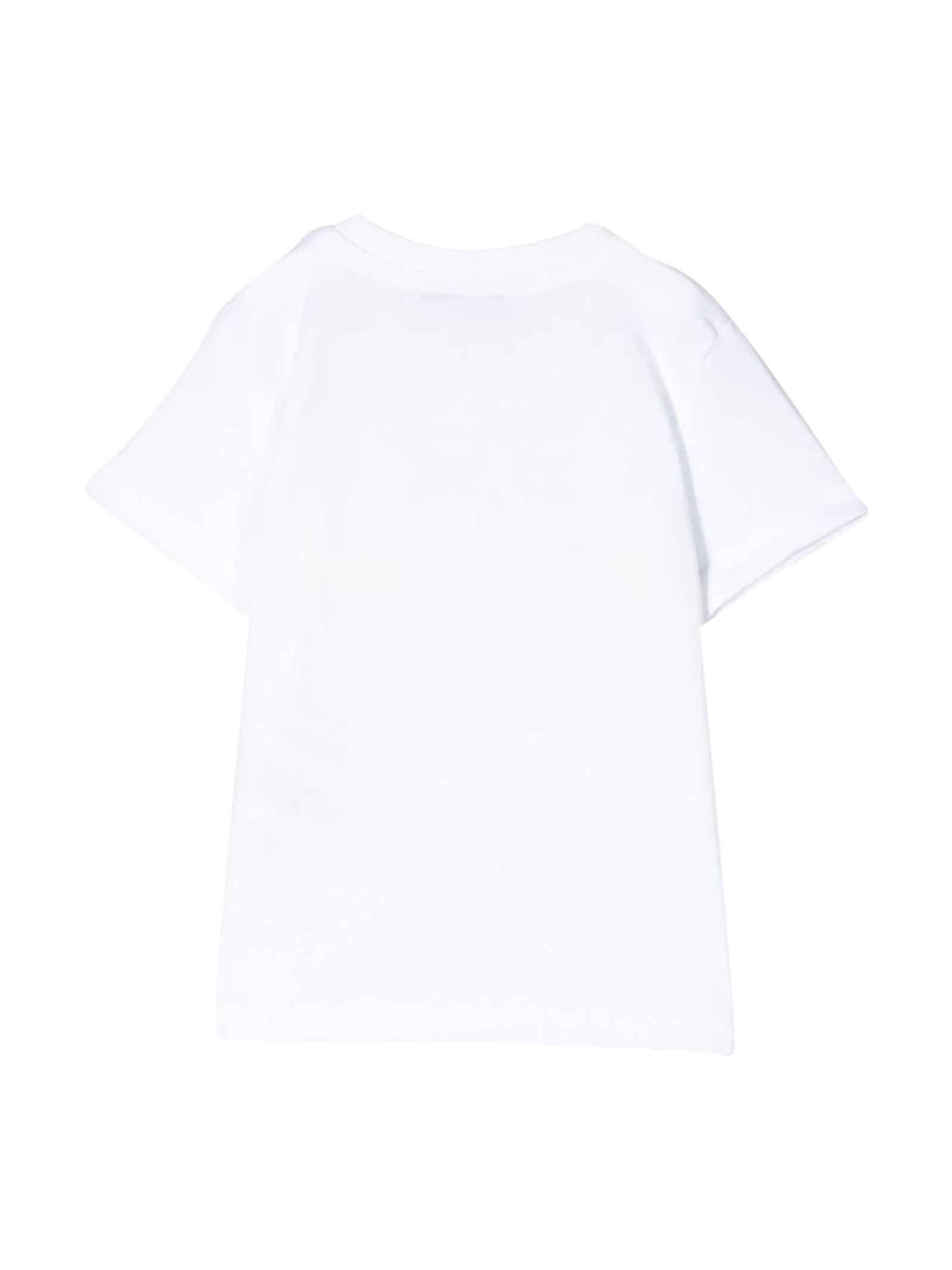 White T-shirt MSGM kids  MSGM KIDS   8   023925001