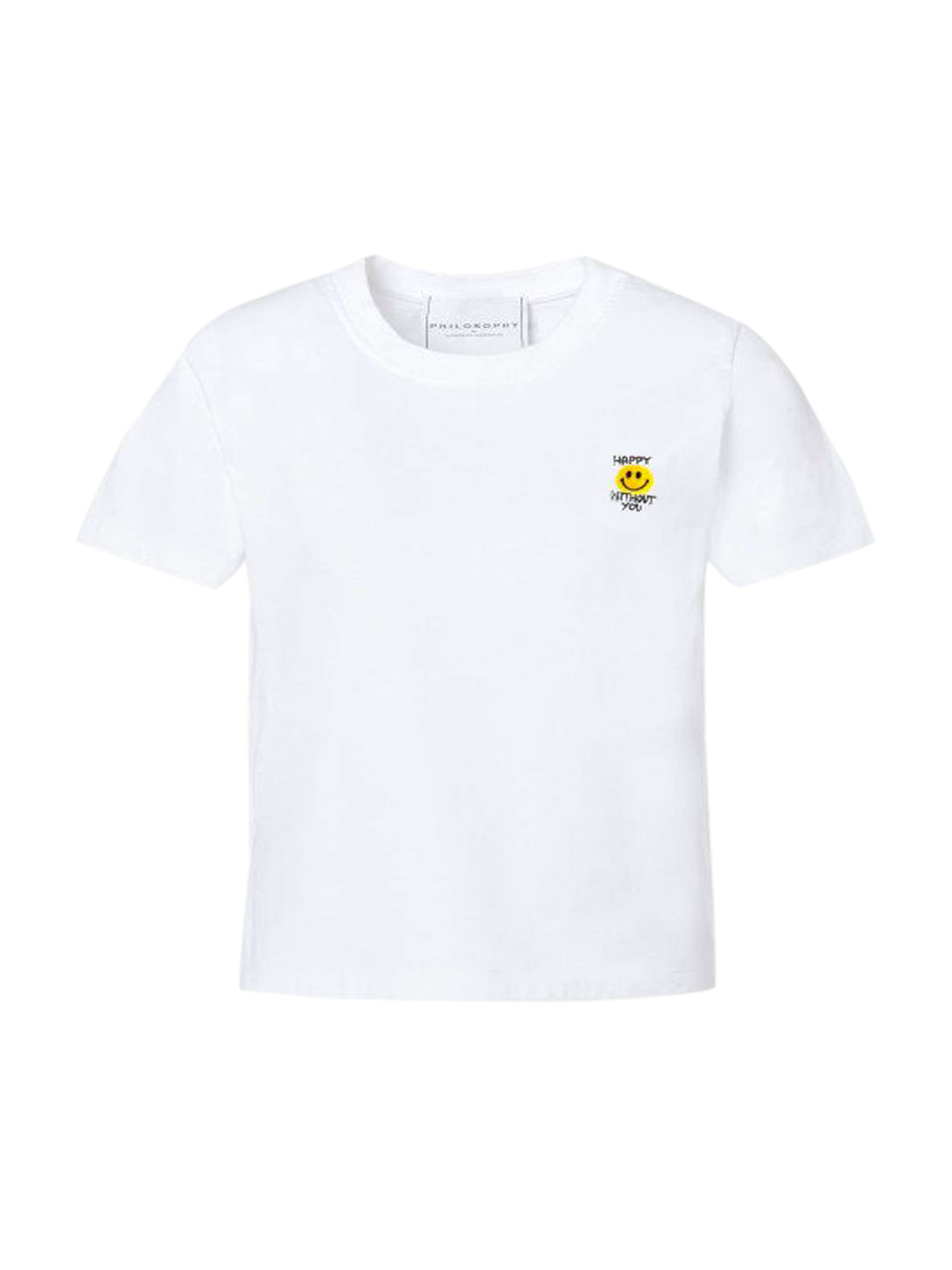 White t-shirt with logo Philosophy kids PHILOSOPHY KIDS | 5032319 | PJTS33JE138VH1200221