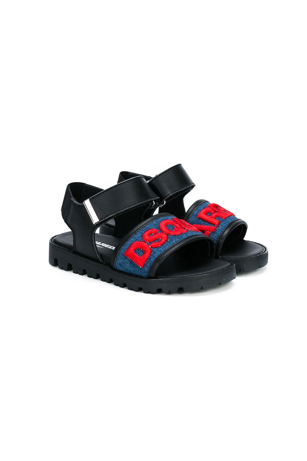 Sandali neri per neonato D1NgBTK