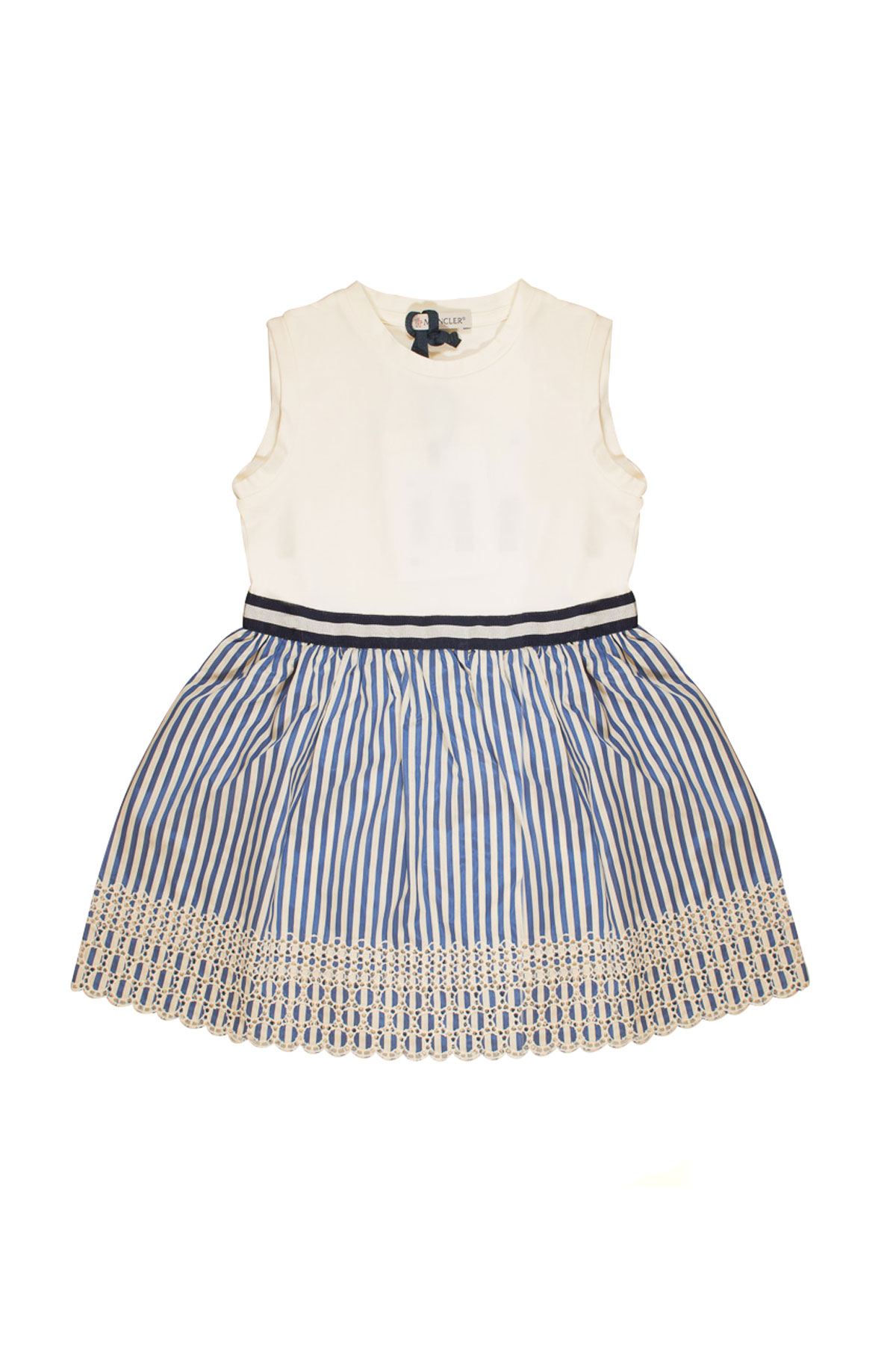 ... WHITE DRESS WITH MULTICOLOR SKIRT Moncler | 11 | 85703008790A034 ...