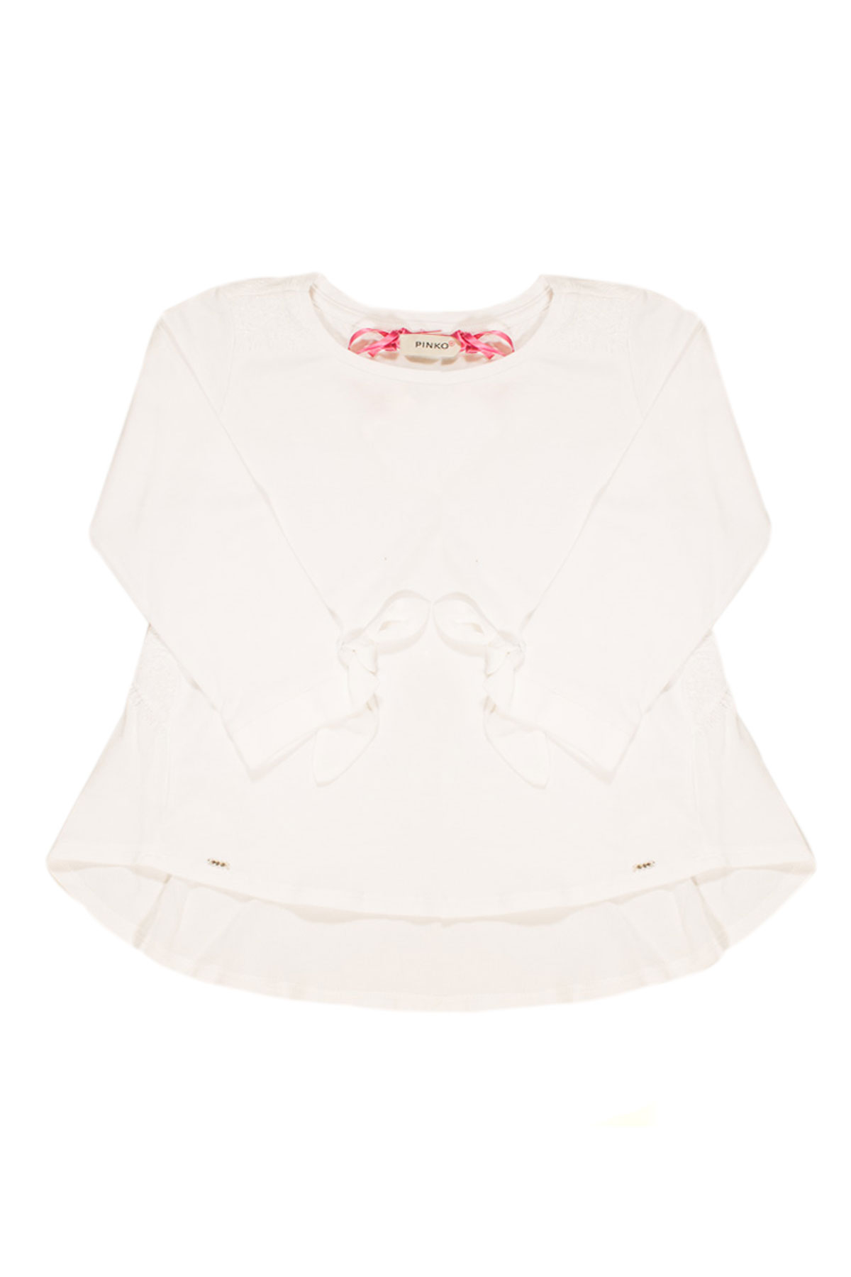 best sneakers 81dfa 3752f WHITE SHIRT WITH BOW ON SLEEVES