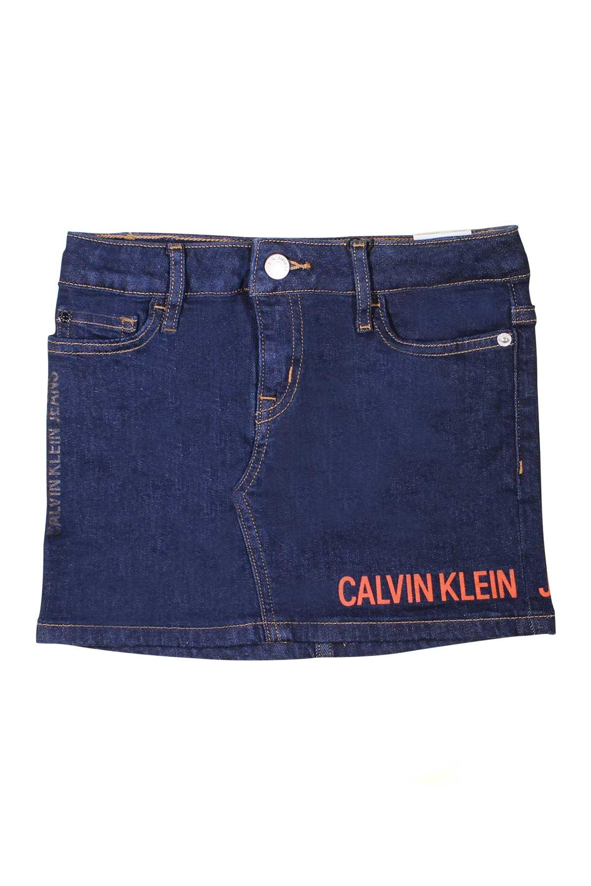 0d8222f0af ... CALVIN KLEIN KIDS DENIM SKIRT CALVIN KLEIN KIDS | 15 | IG0IG00051911 ...