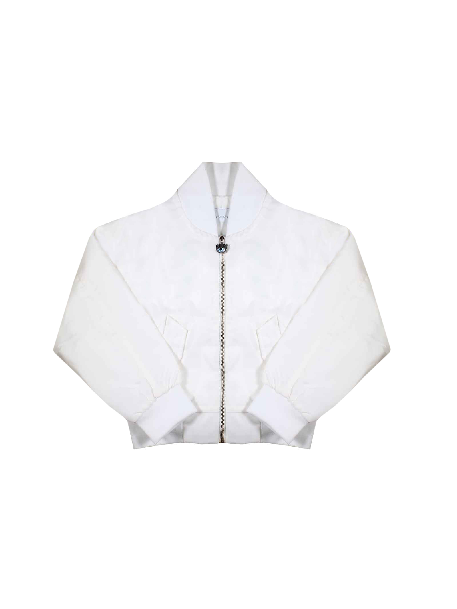 CHIARA WHITE BOMBER FERRAGNI KIDS FOR GIRL  CHIARA FERRAGNI KIDS | 1236091882 | CFKJ004BIANCO