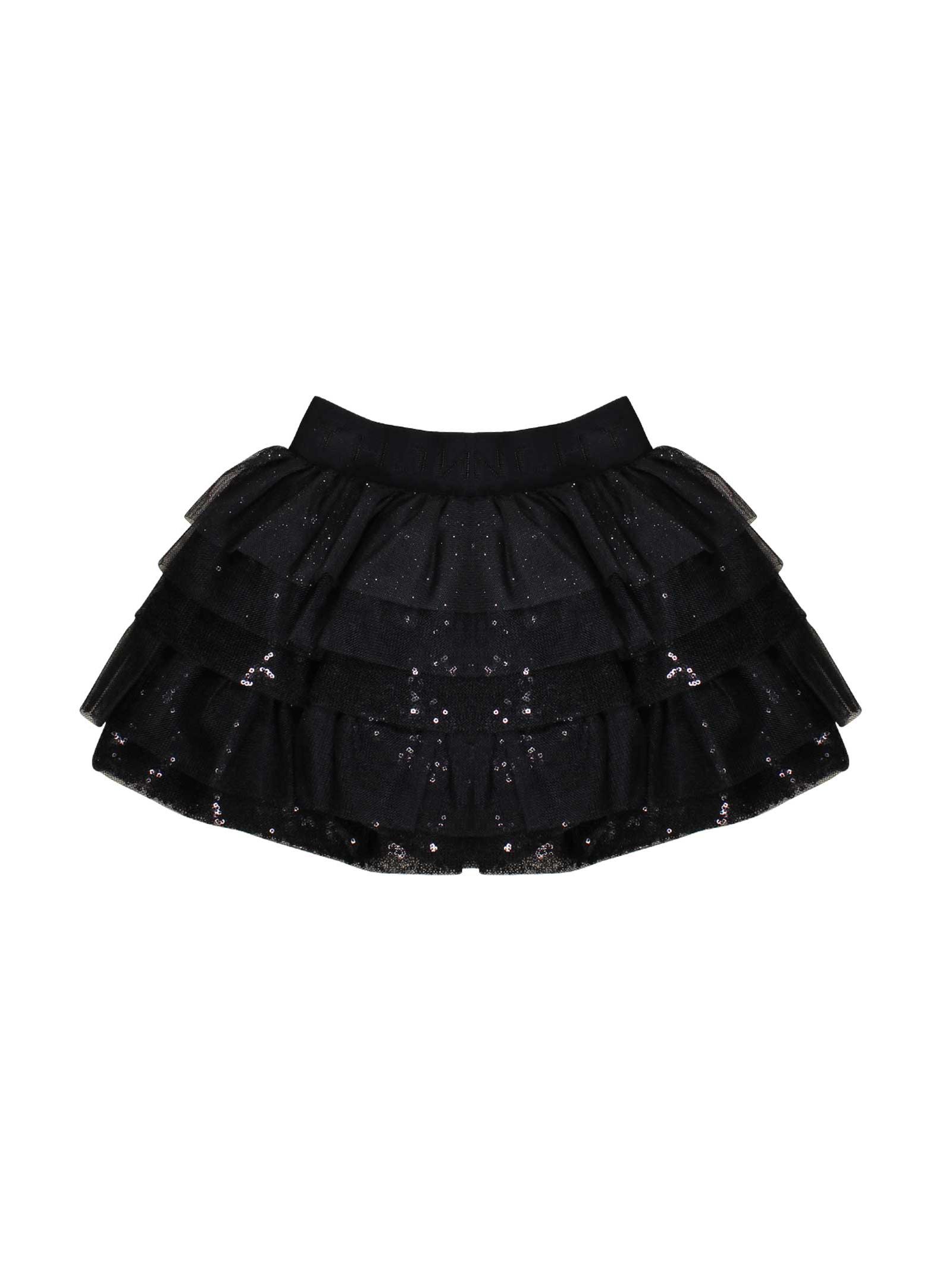 09f800eb30 ... BLACK SKIRT GIVENCHY KIDS TEEN Givenchy Kids | 15 | H1301809BT ...