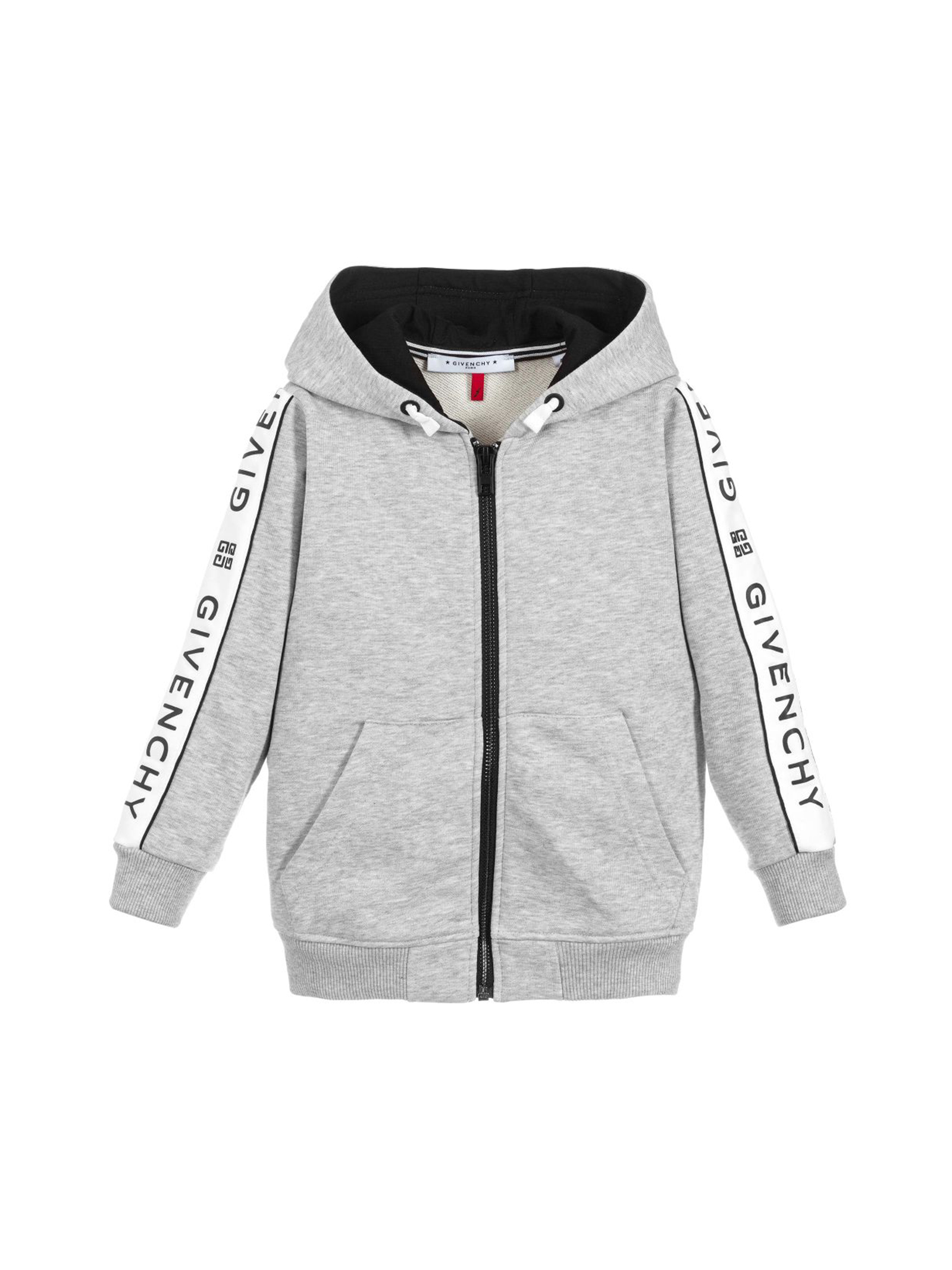 3b0ad84a200e GREY SWEATER GIVENCHY KIDS FOR BOY - Givenchy Kids - Mancini Junior