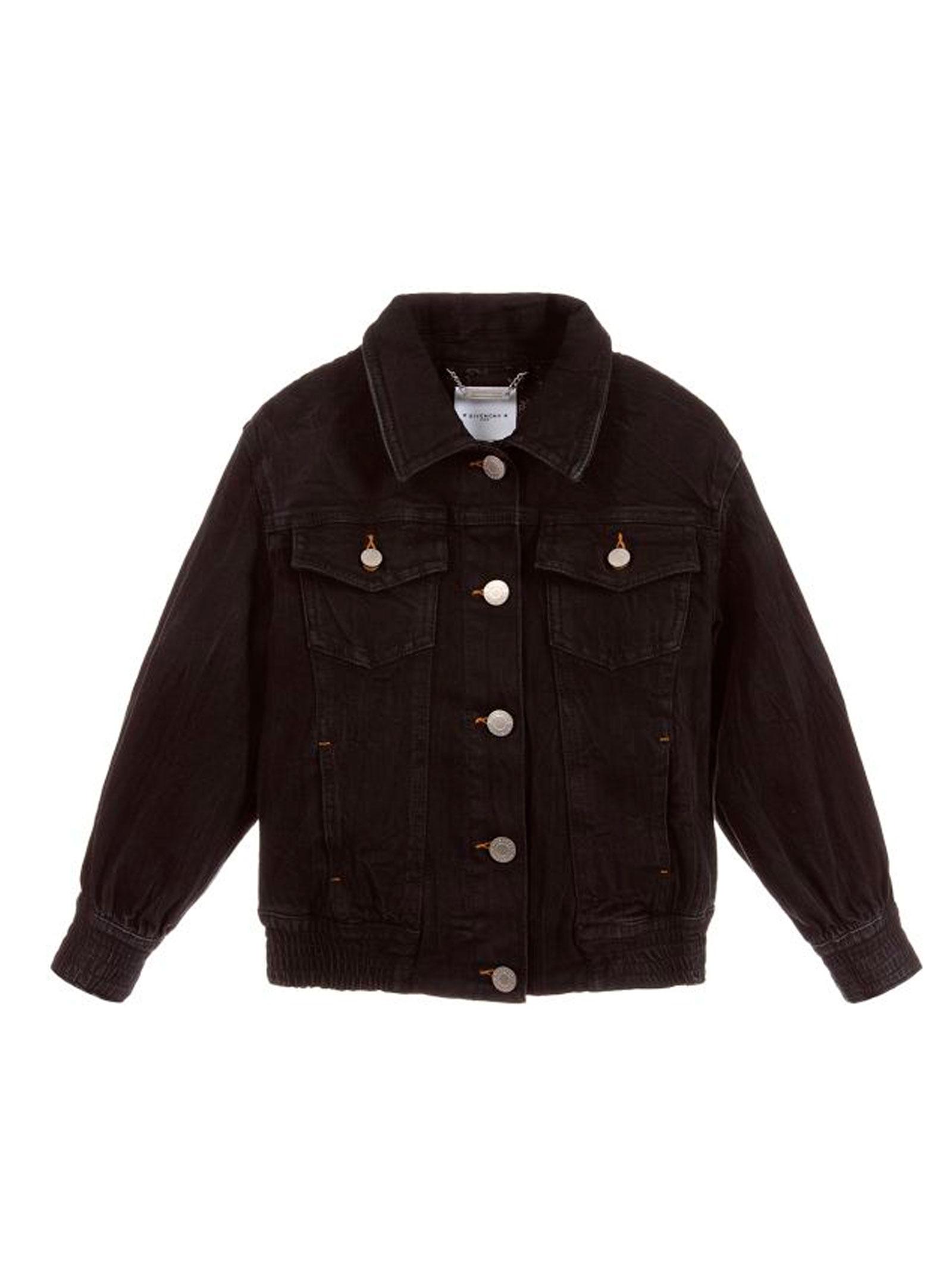 5cff3ef215 ... JACKET IN BLACK DENIM GIVENCHY KIDS Givenchy Kids | 13 | H16039Z11 ...