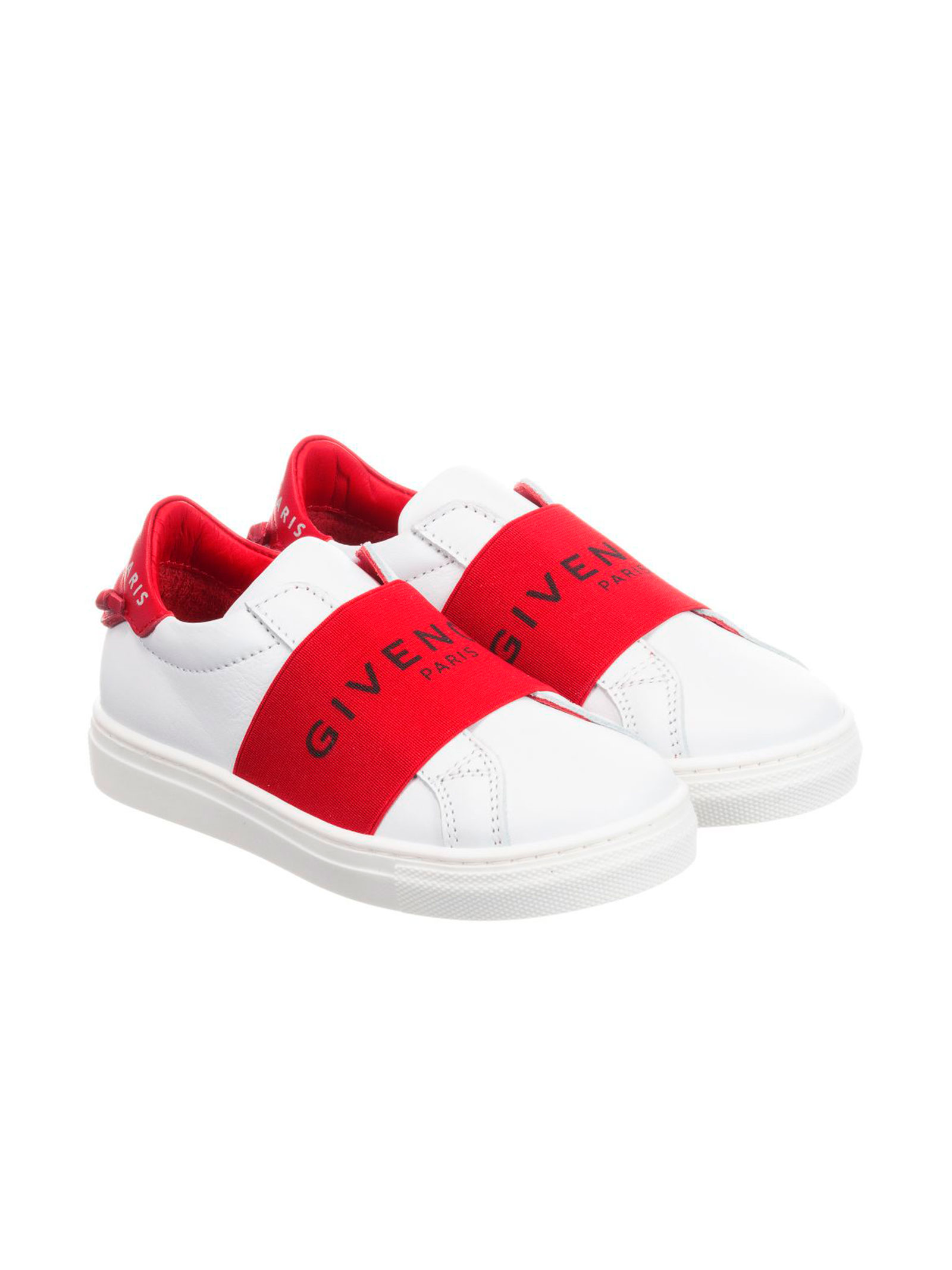 75270e38f73a WHITE AND RED SNEAKERS GIVENCHY KIDS FOR BOY - Givenchy Kids ...