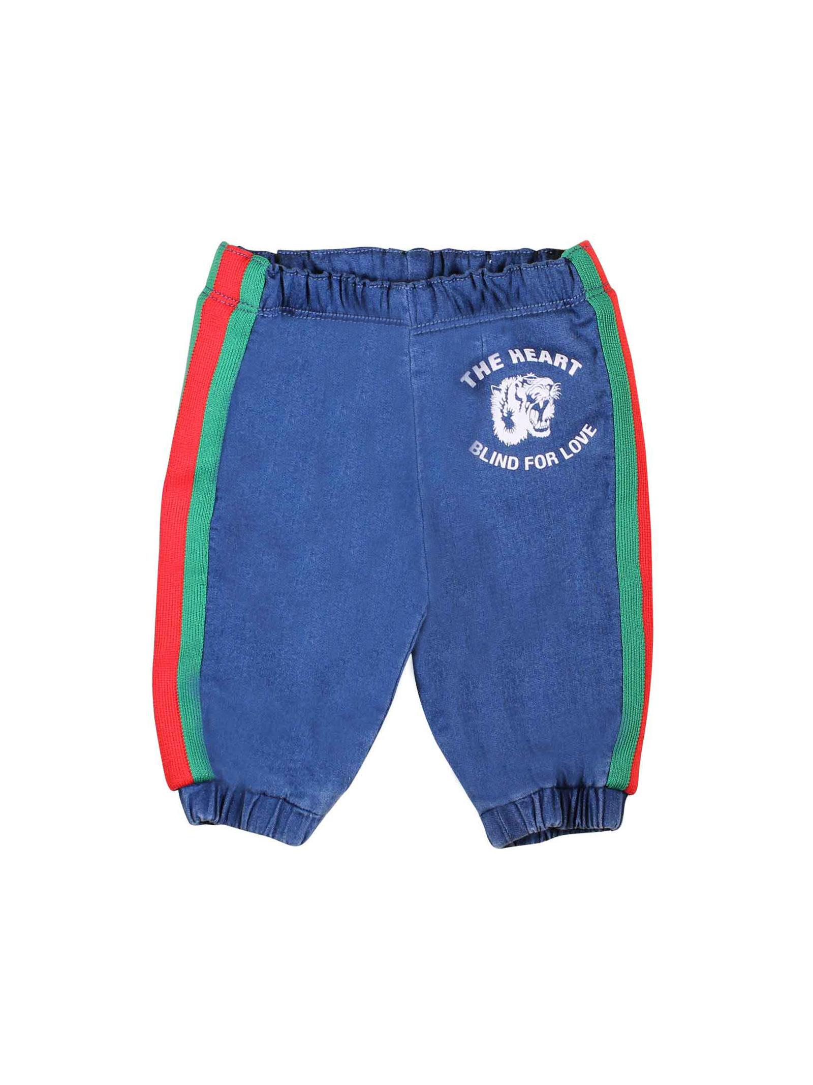d60957a7b ... BLUE DENIM PANTS FOR BOY GUCCI KIDS GUCCI KIDS   9   547187XJAHD4206 ...