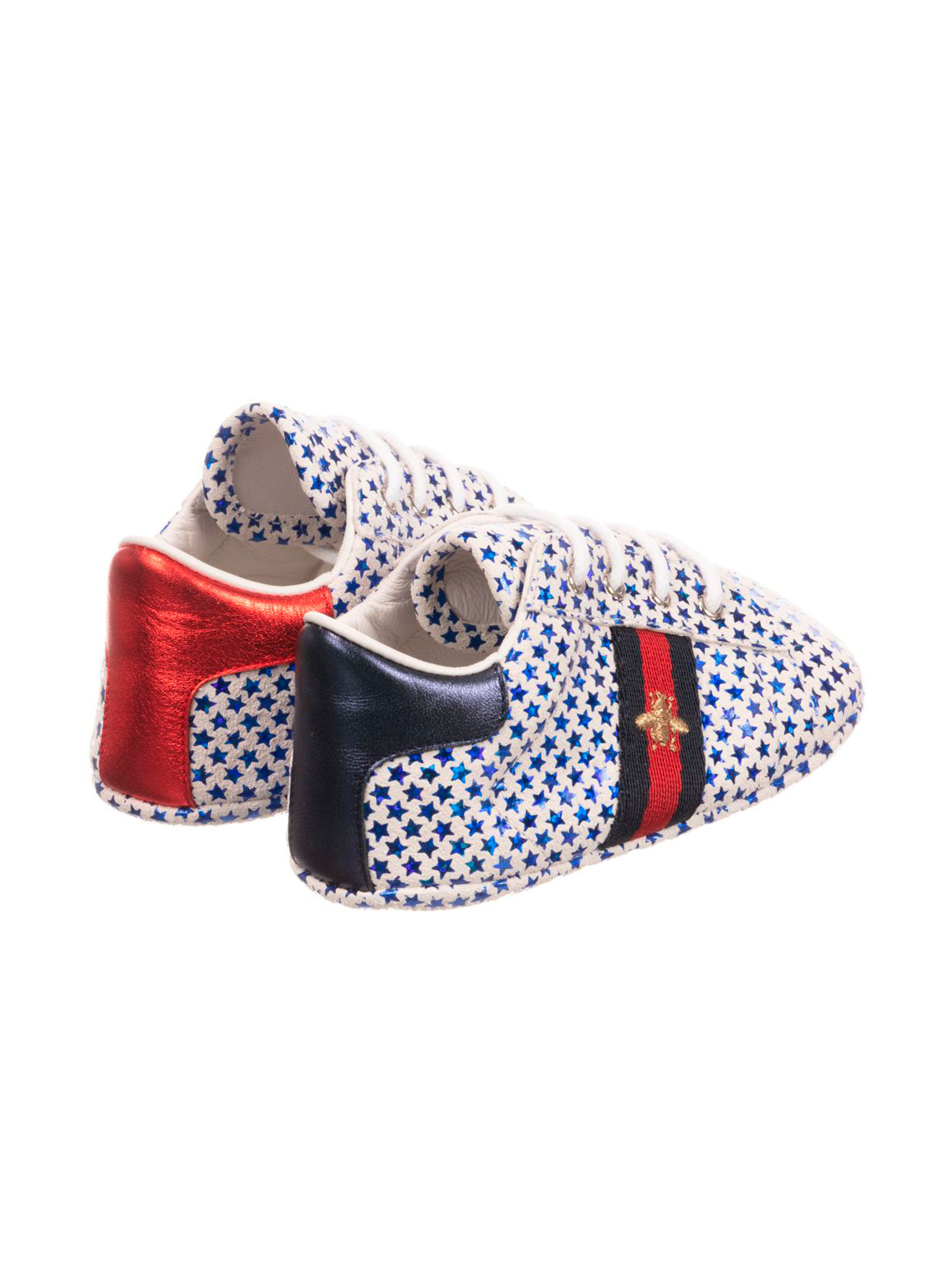 46130527fc1d1 GUCCI KIDS BABY LACE-UP SHOES - GUCCI KIDS - Mancini Junior
