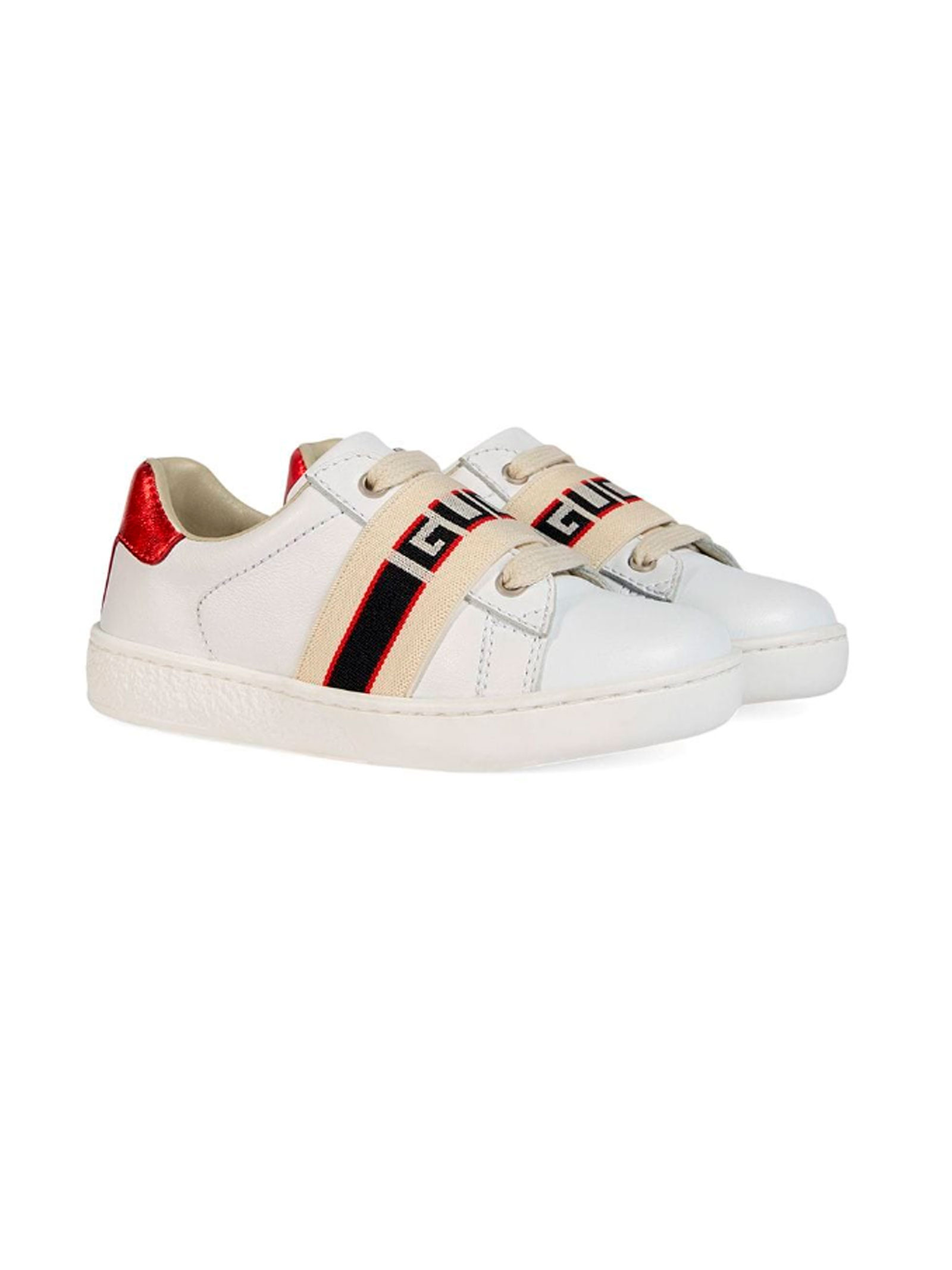 60b788a69 ... WHITE GUCCI KIDS BABY SHOES GUCCI KIDS | 12 | 5529400IIR09065 ...