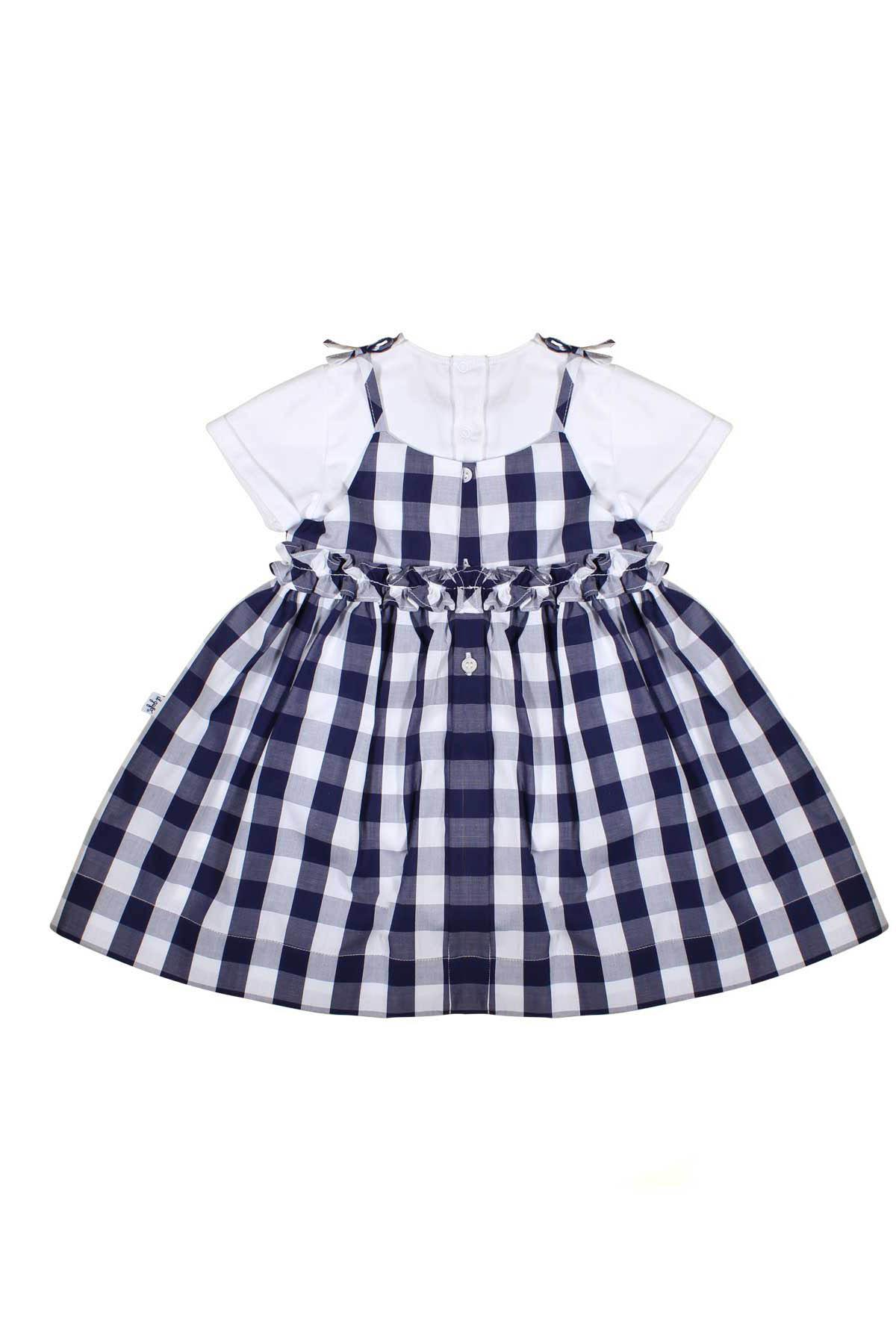 NEWBORN DRESS WITH WHITE SUIT IL GUFO JUNIOR IL GUFO | 42 | P19DP278C3105490