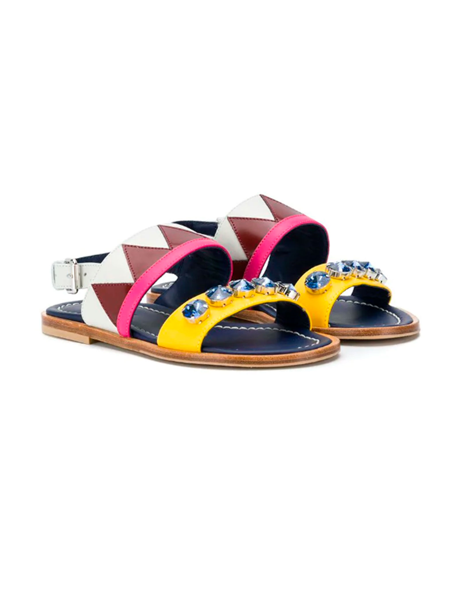 ee0867584a75c MULTICOLORED SANDALS GUCCI KIDS TEEN - MARNI KIDS - Mancini Junior