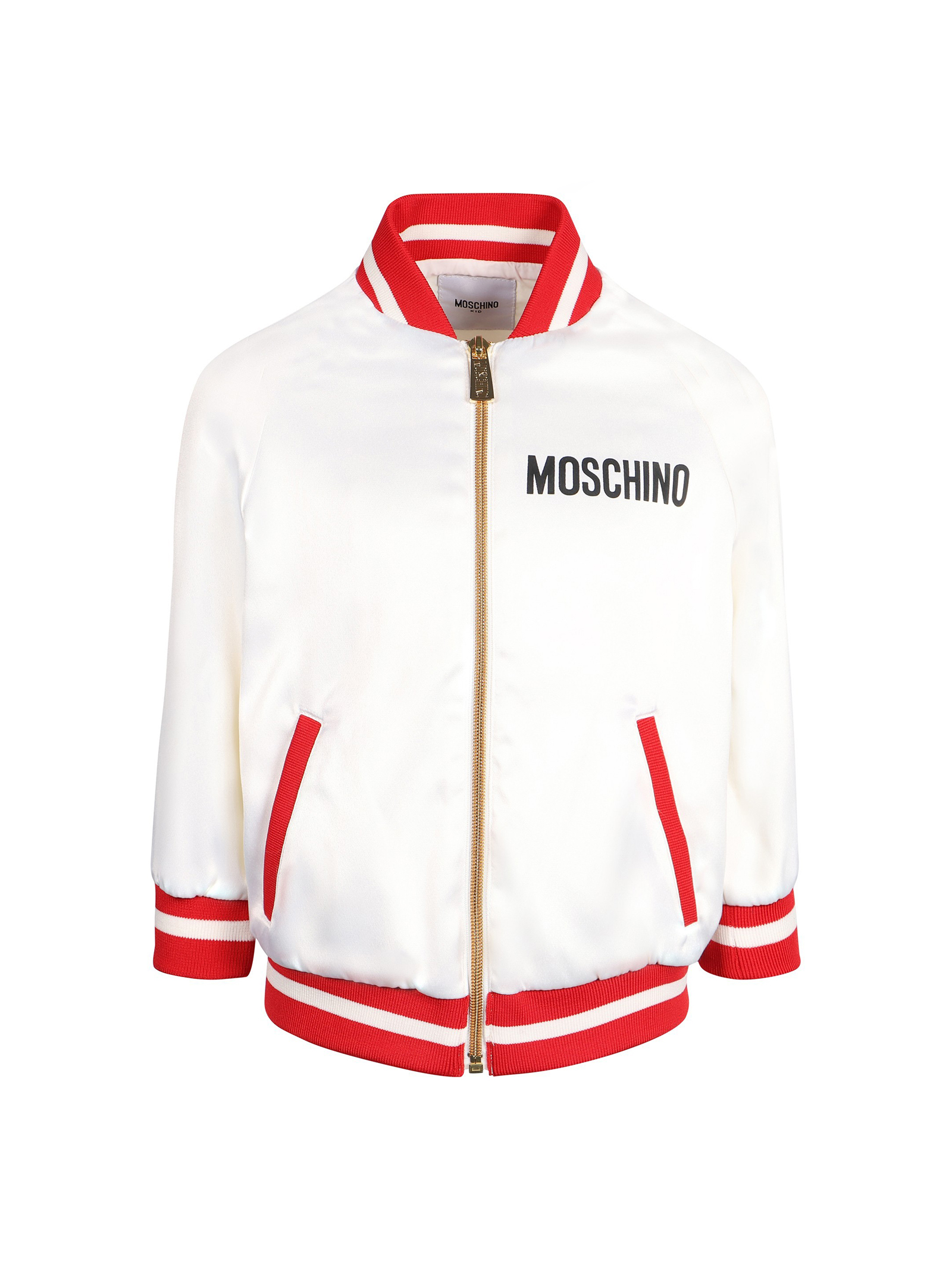 9f1b92cf9 ... WHITE BOMBER MOSCHINO KIDS FOR BOY MOSCHINO KIDS | 1236091882 |  HDA000LRA0410063 ...