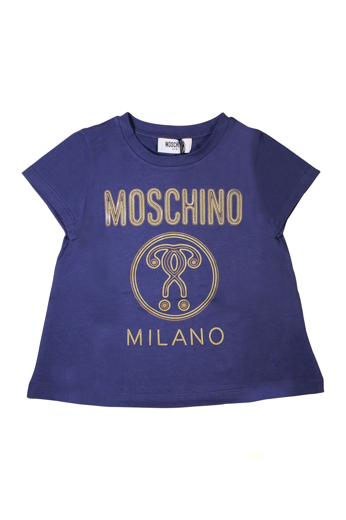 f70176dc8 ... T-SHIRT NAVY BLUE FOR BOY MOSCHINO KIDS MOSCHINO KIDS | 7 |  HDM02YLBA1040016 ...