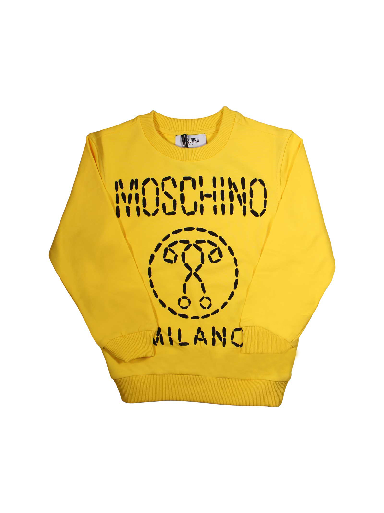 110b50d2d ... YELLOW SWEATER MOSCHINO KIDSFOR BOY MOSCHINO KIDS | -108764232 |  HMF02HLDA0050618 ...
