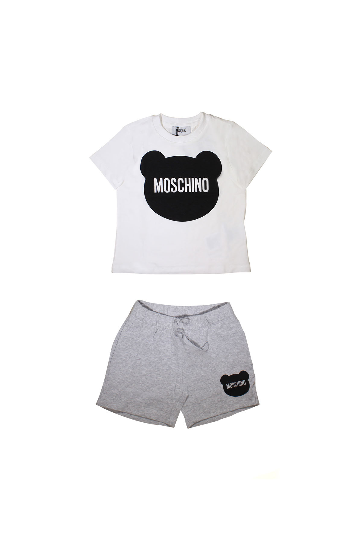 442ac8772 ... WHITE T-SHIRT MOSCHINO + SHORTS KIDS TEEN MOSCHINO KIDS | 8 |  HMK01CLBA00T84011 ...