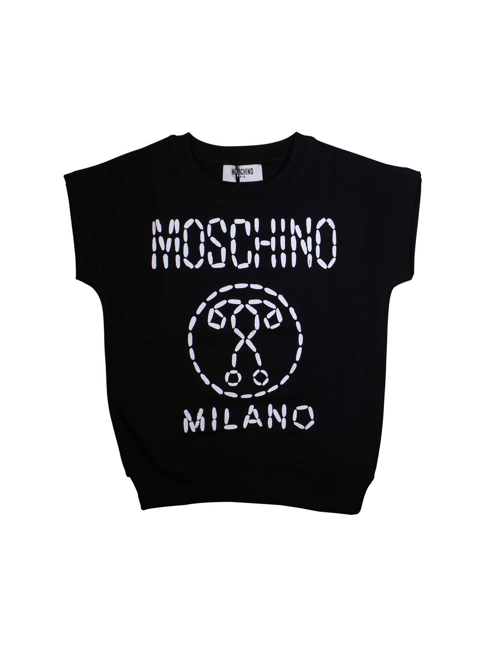a61e565fe ... BLACK VEST MOSCHINO KIDS FOR BOY MOSCHINO KIDS | 38 | HUF02MLDA0060100  ...