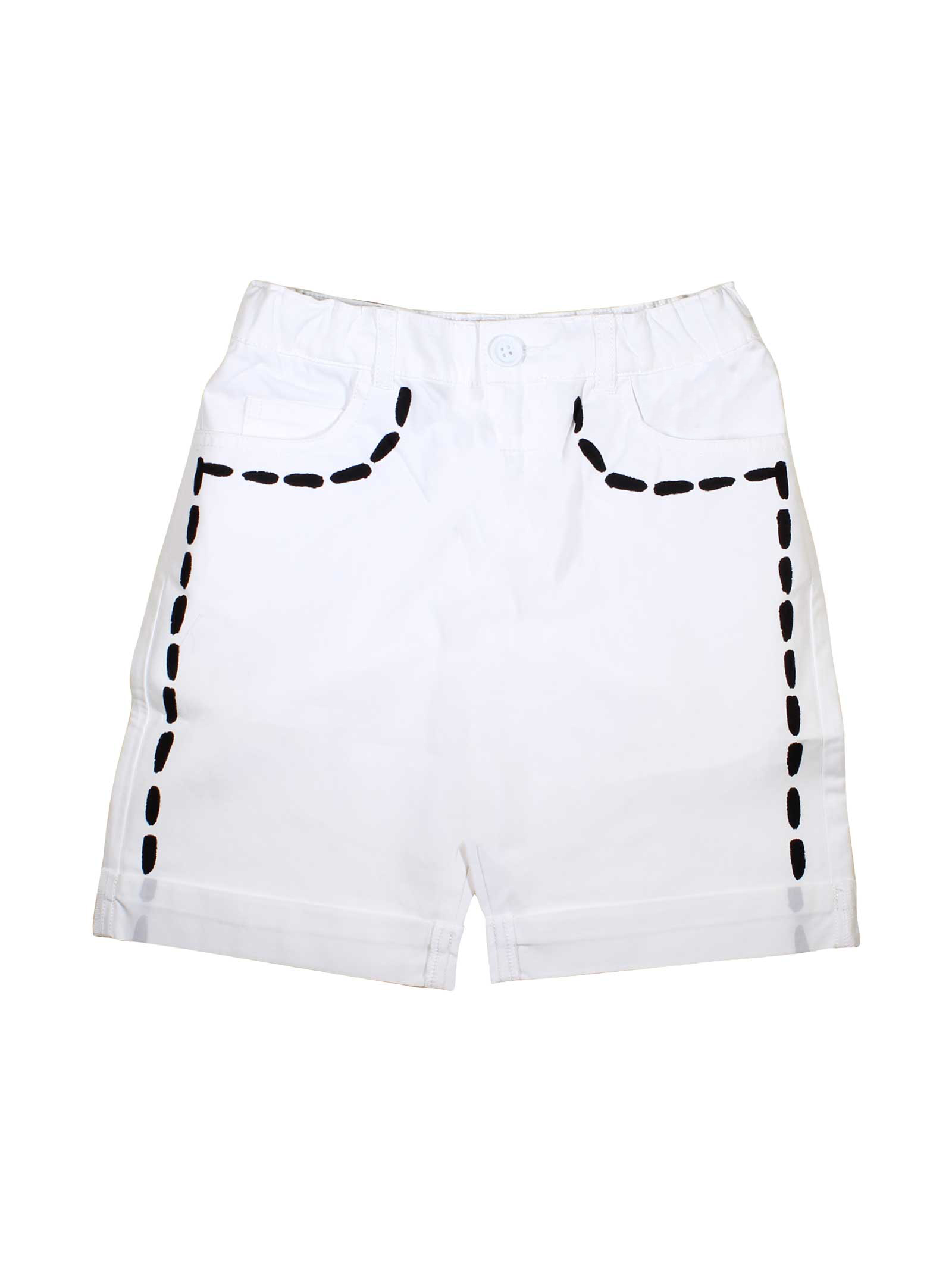 9602bce23 ... WHITE SHORTS MOSCHINO KIDS FOR BOY MOSCHINO KIDS | 30 |  HUP02PL0A0110101 ...