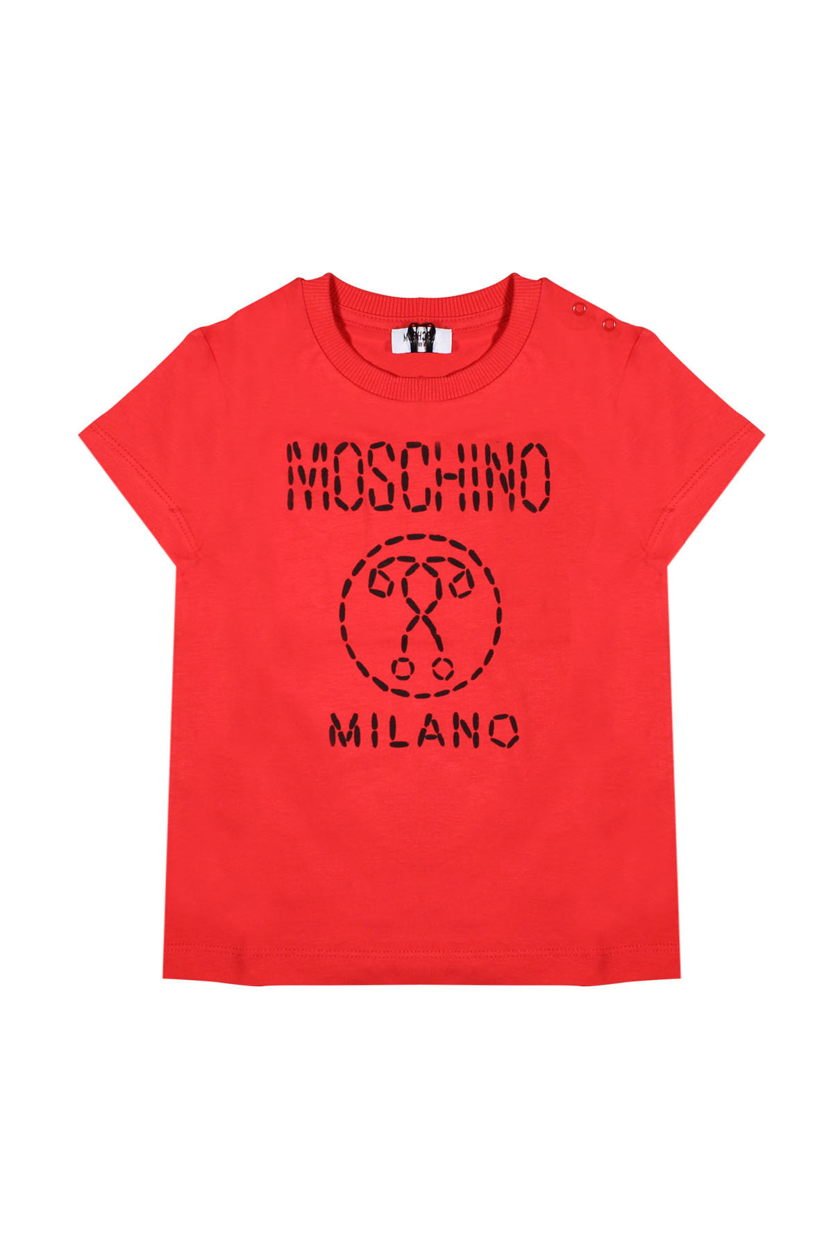 be4e4c3a2 ... RED T-SHIRT FOR BOY MOSCHINO KIDS MOSCHINO KIDS | 8 | M6M01HLAA0250316  ...