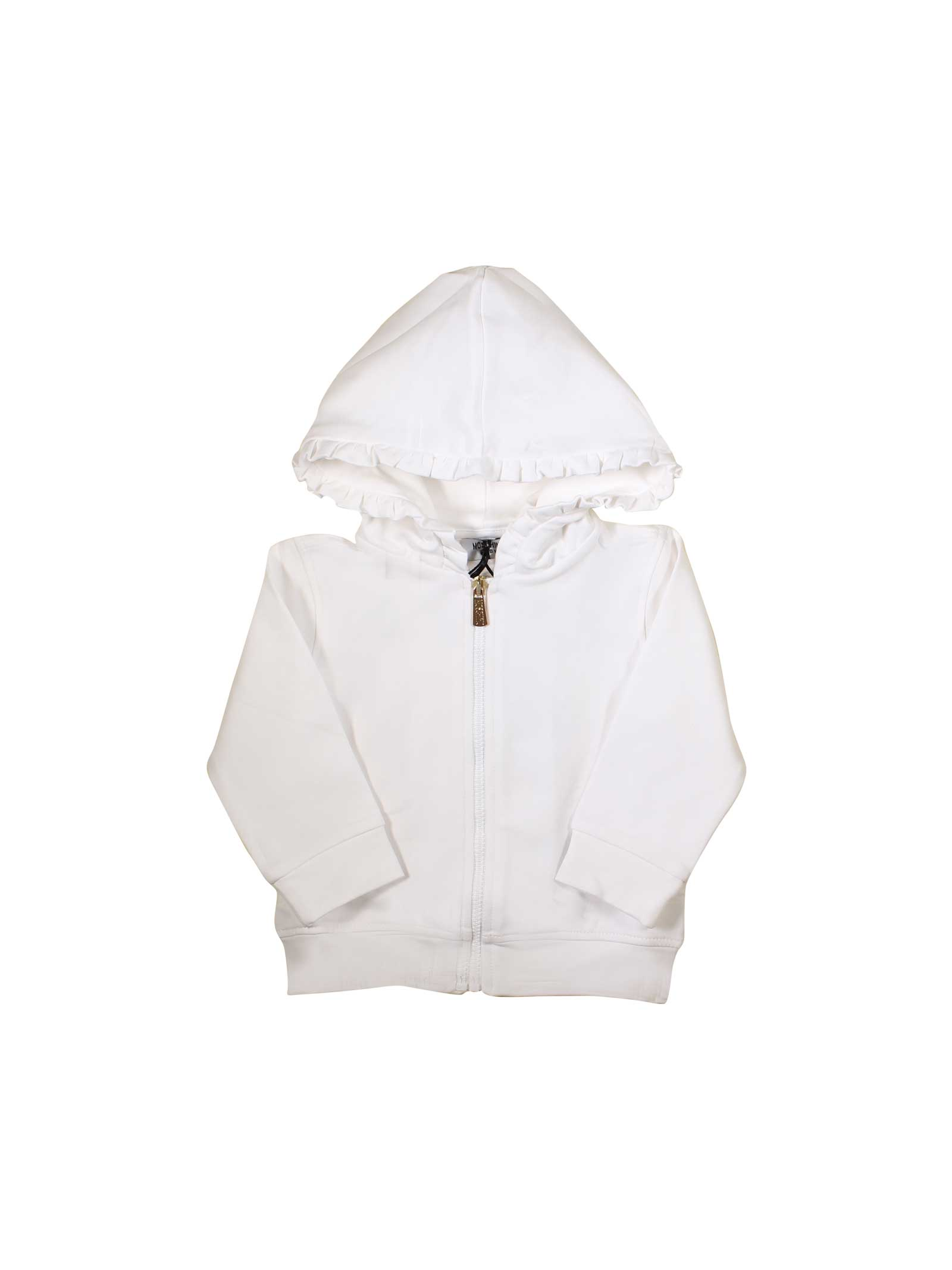 8a29a8979 ... WHITE NEWBORN MOSCHINO KIDS SWEATSHIRT MOSCHINO KIDS | -108764232 |  MDF010LDA1310101 ...