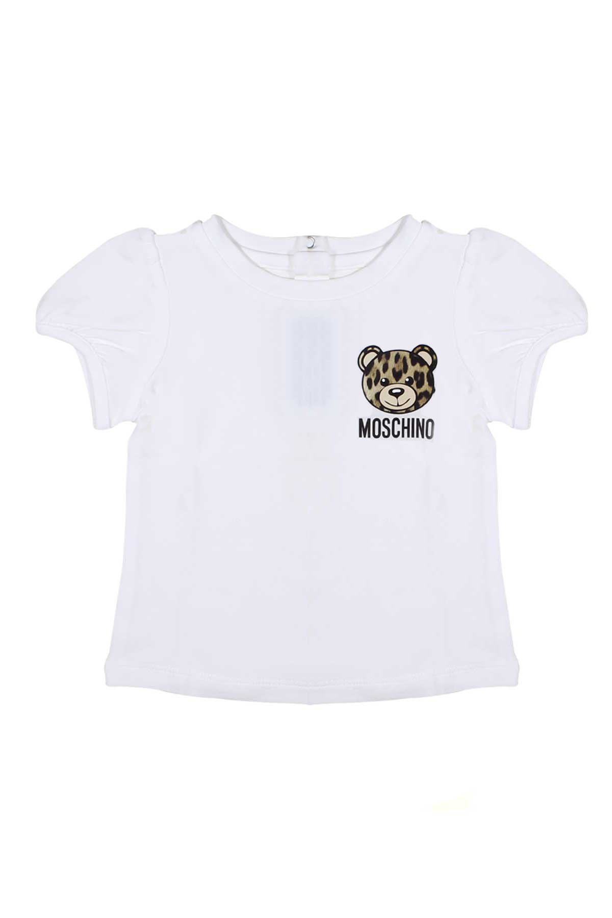53dc494d9 ... T-SHIRT FOR BOY WITH BEAR MOSCHINO KIDS MOSCHINO KIDS | 8 |  MDM02BLBA1010063 ...