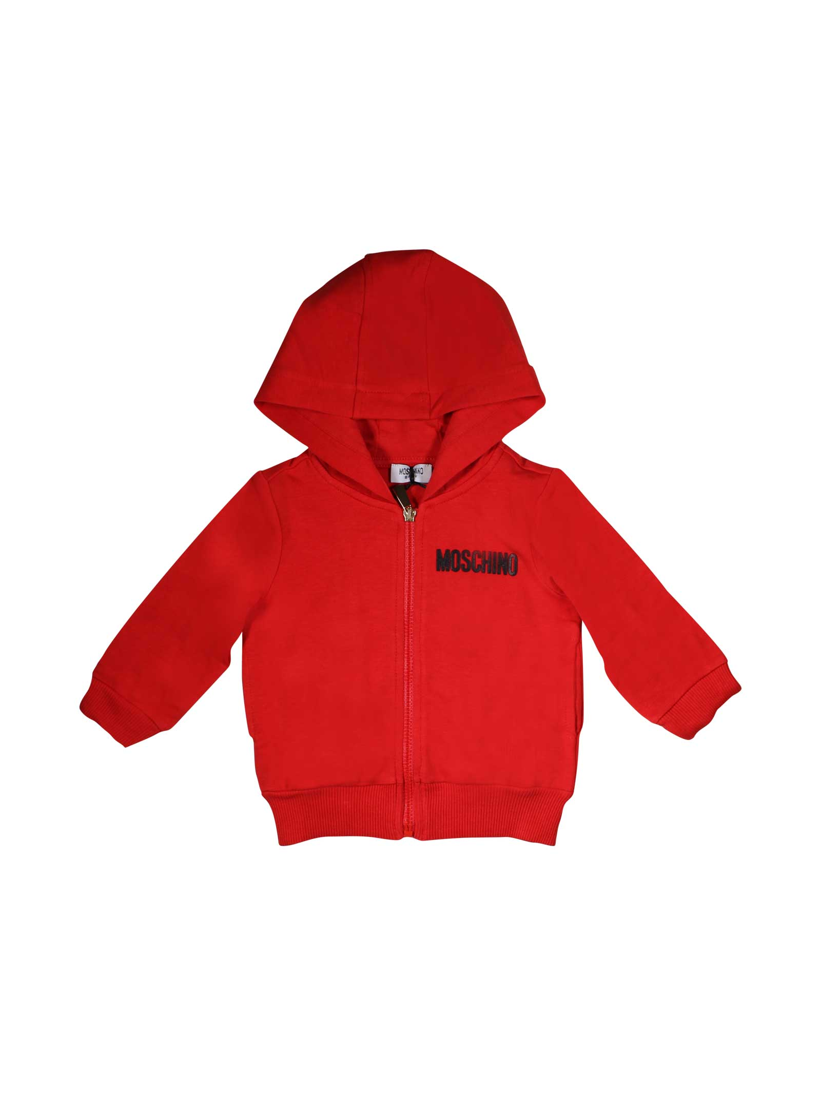 bf9c67edc RED MOSCHINO KIDS SWEATSHIRT FOR BABY - MOSCHINO KIDS - Mancini Junior