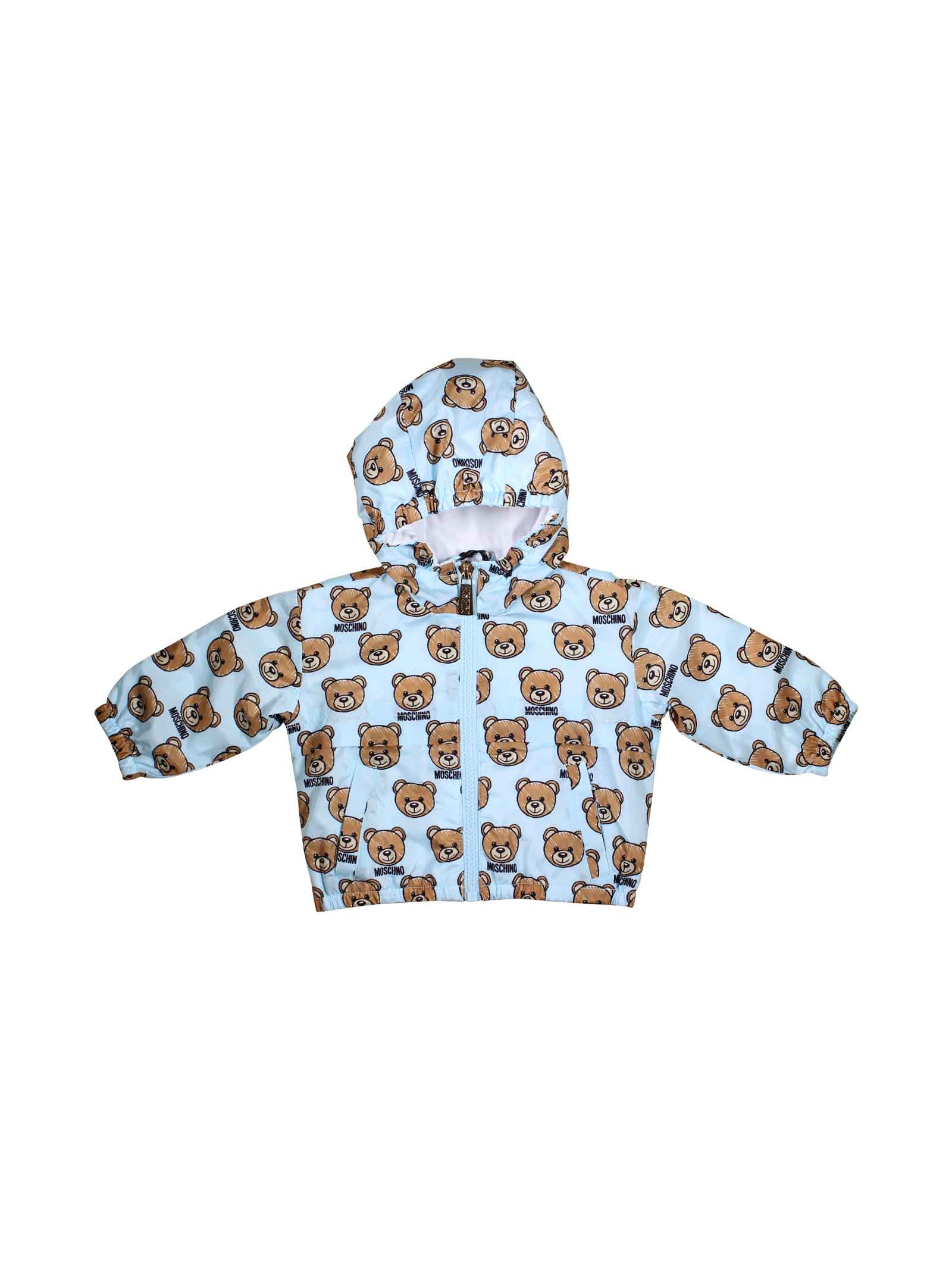 cd9cafac0 ... LIGHT BLUE JACKET FOR BOY MOSCHINO KIDS MOSCHINO KIDS | 13 |  MWS018L3B1884003 ...