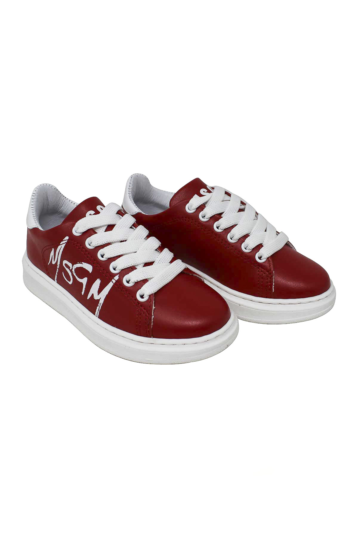 RED SNEAKERS MSGM KIDS  MSGM KIDS | 12 | 018599040