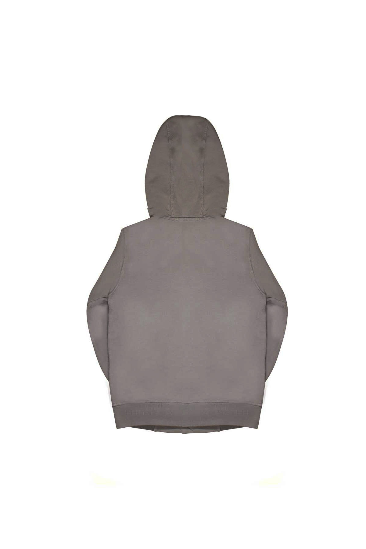GREY SWEATSHIRT WITH HOOD STONE ISLAND JUNIOR  STONE ISLAND JUNIOR | -108764232 | 701661442V0092