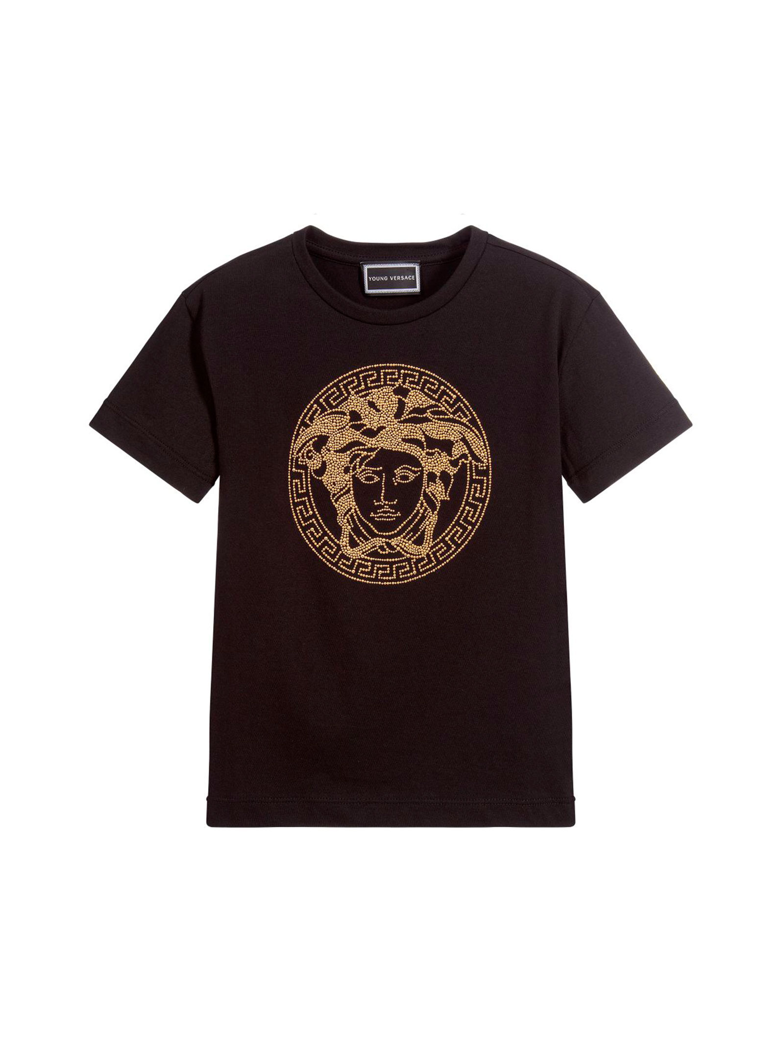 318e1946 ... BLACK YOUNG VERSACE T-SHIRT FOR BOY YOUNG VERSACE | 8 |  YVFTS281Y0002Y4916 ...
