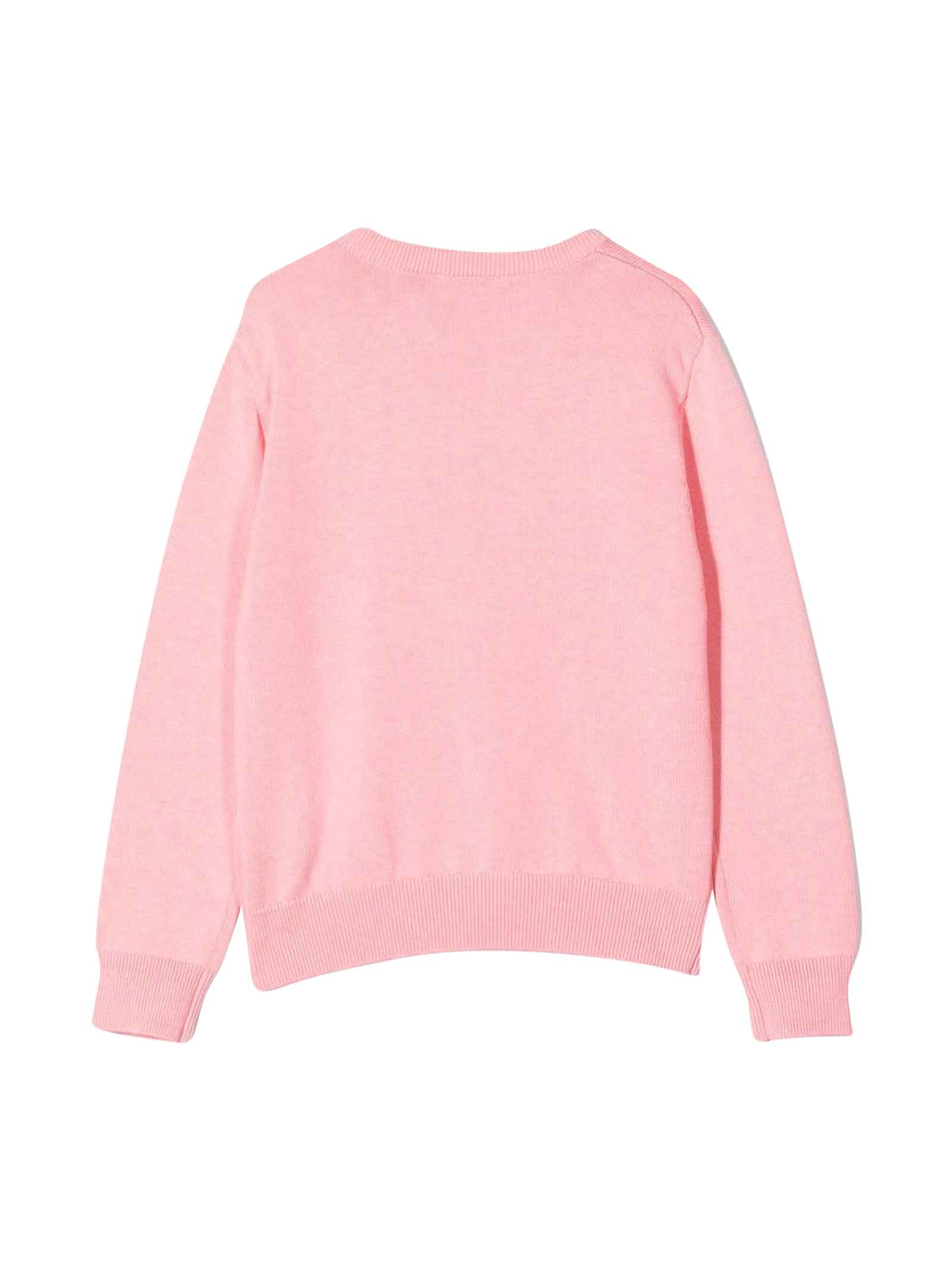 Felpa rosa teen Lanvin enfant   -1384759495   N1504247BT