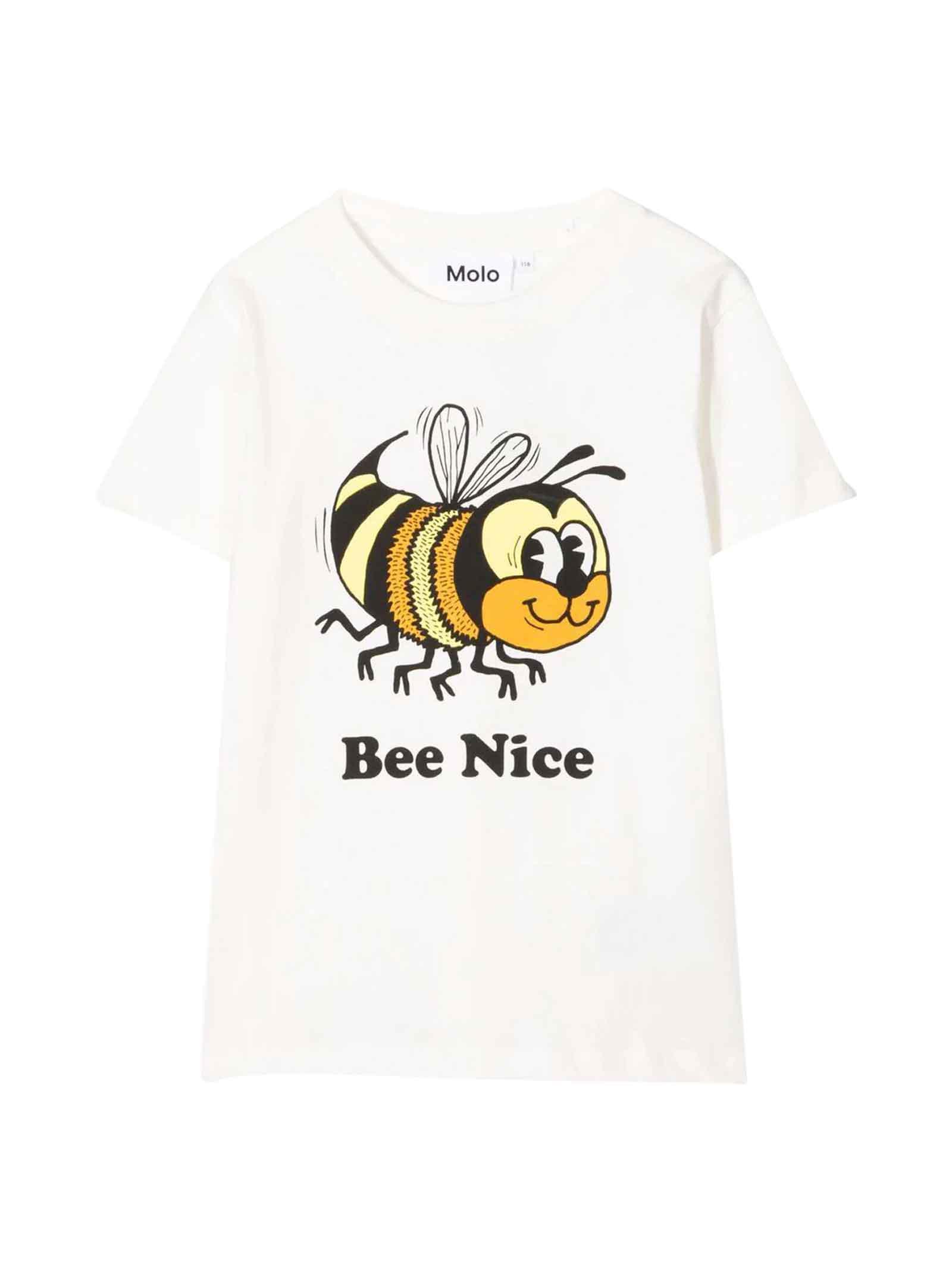 T-shirt bianca teen MOLO   8   1W21A2182443T